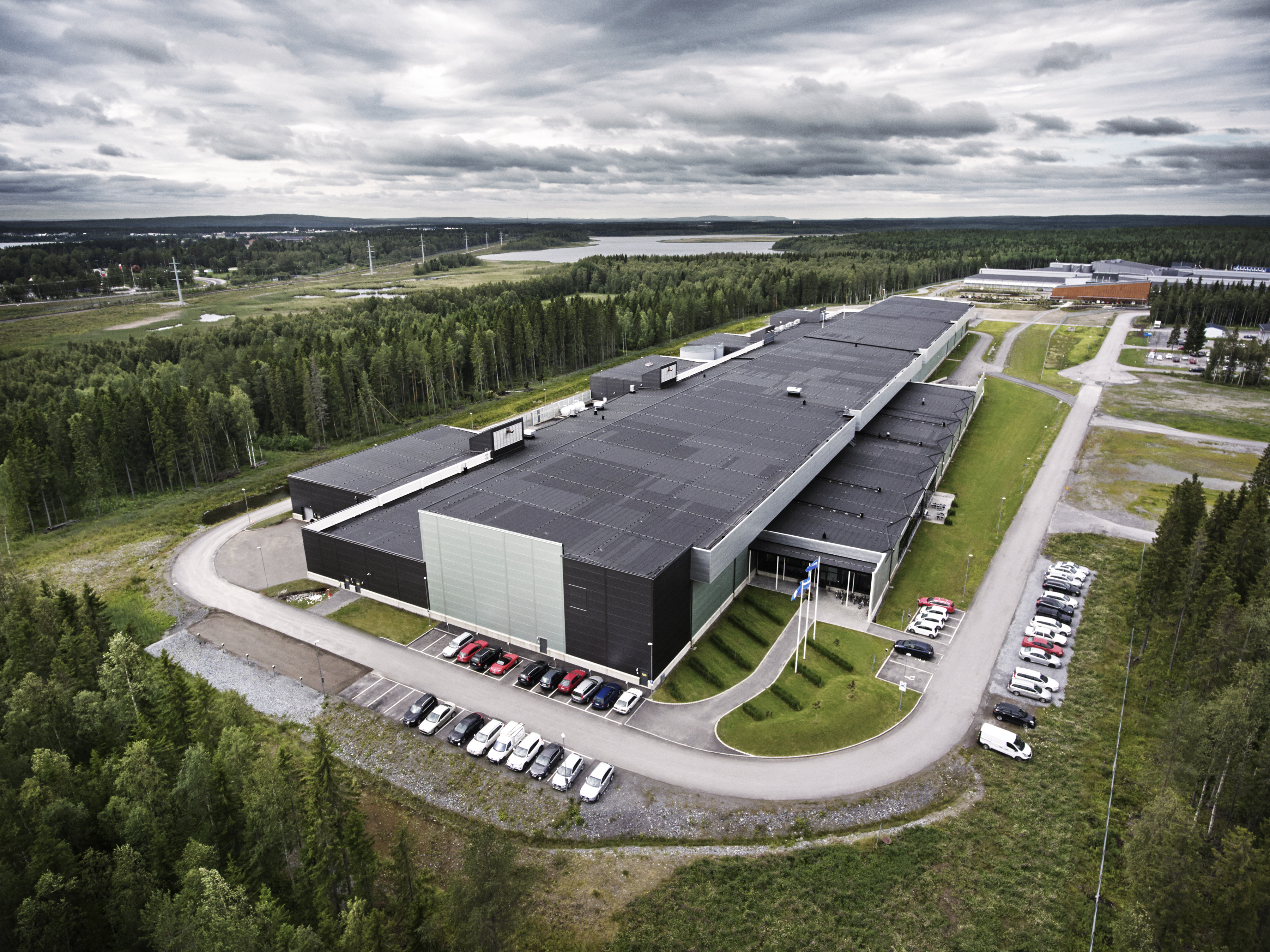 Luleå, just south of the Arctic Circle and near the top of the world, was an appealing location for a data center thanks to its cool                                climate and renewable energy sources.