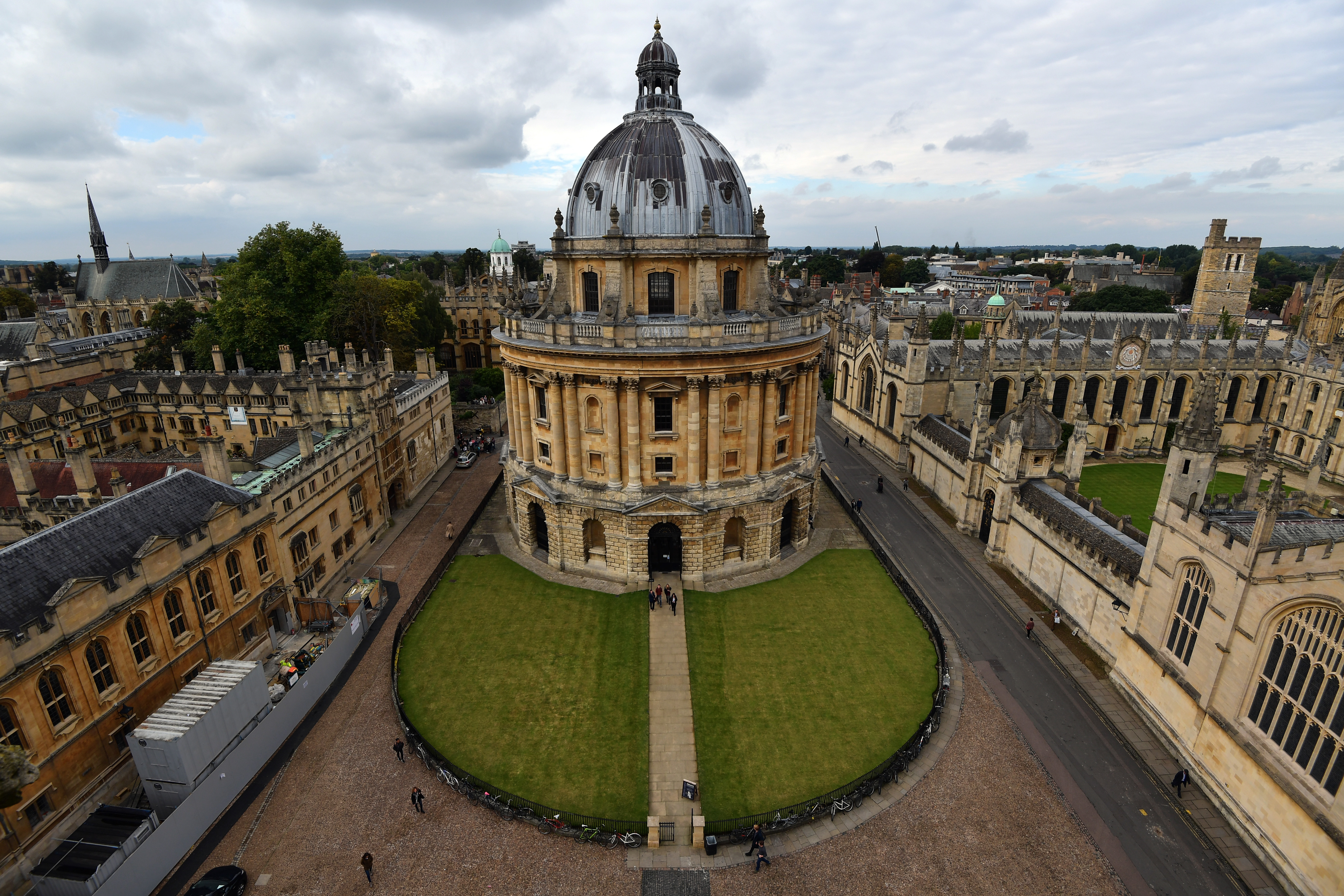 Radcliffe Camera is pictured on September 20, 2016 in Oxford, England.