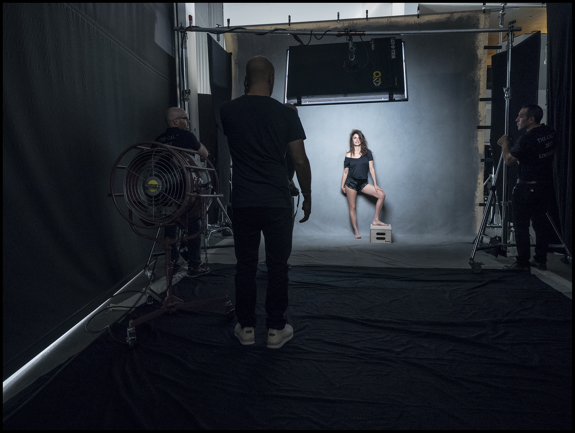 Penelope Cruz - The behind the scenes imagery from the 2017 Pirelli Calendar by Peter Linbergh  by Alessandro Scotti.