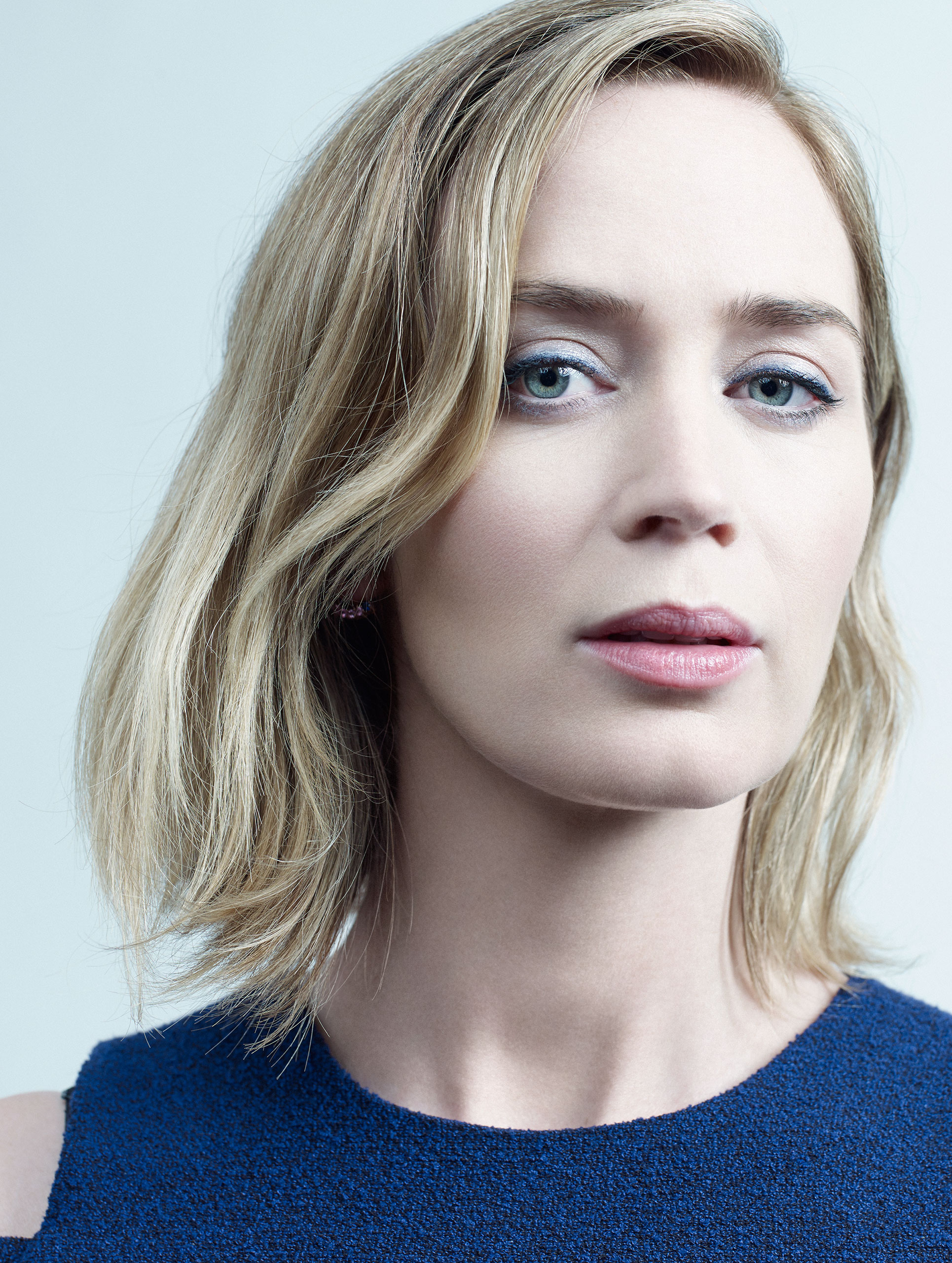 Emily Blunt photographed in New York City, August 25, 2016.From  2016 Fall Arts Preview.  Sept. 12 / Sept. 19, 2016 issue.