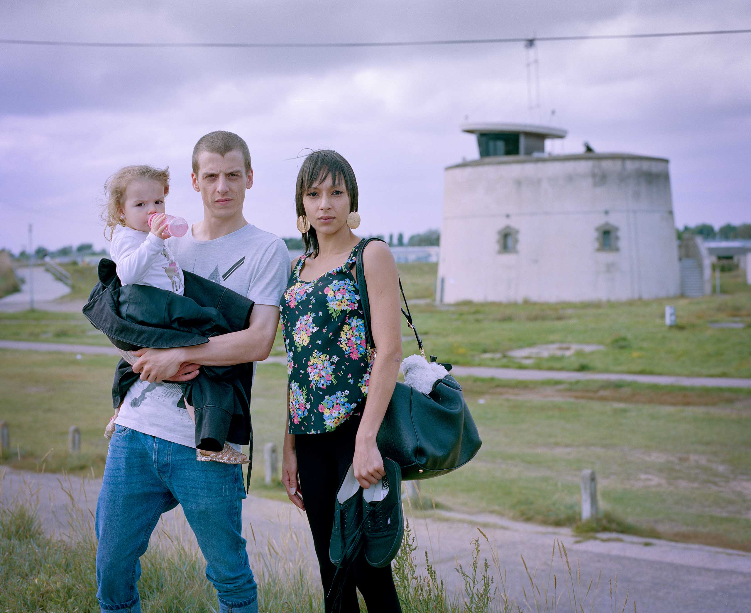 Tina, Paul and baby Harleigh