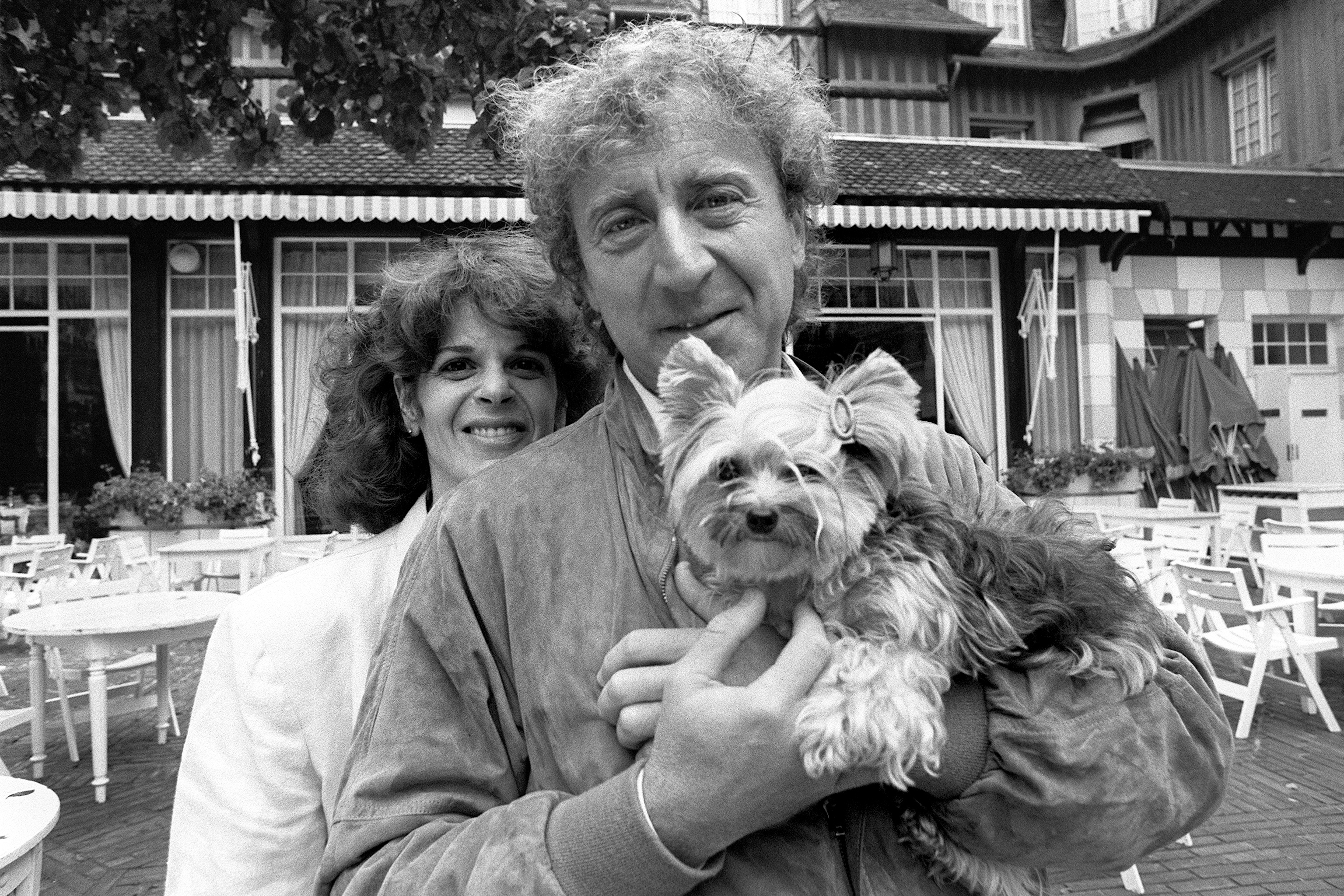 Gene Wilder and Gilda Radner, on Sept. 7, 1984 in Deauville, France.