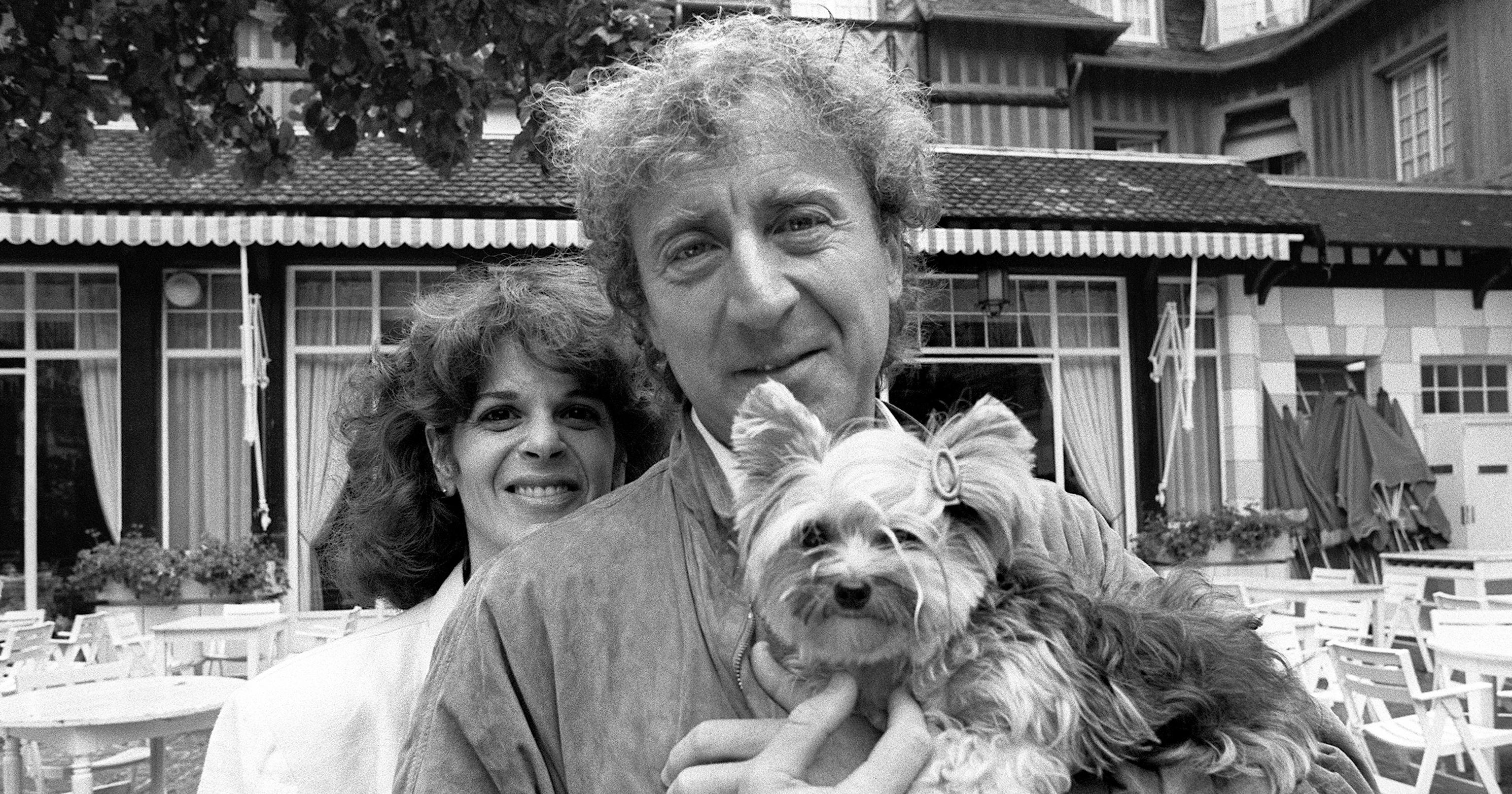 Gene Wilder and Gilda Radner, on Sept. 7, 1984 in Deauville, France.