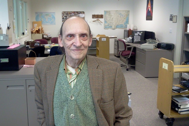 Robert Morin, who worked as a cataloguer at the Dimond Library at the University of New Hampshire for nearly 50 years, donated his entire estate of $4 million to the university.