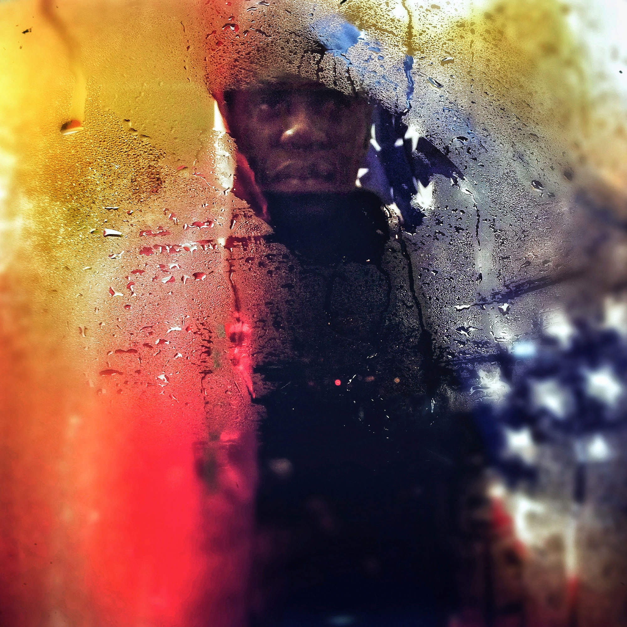 When Living Is A Protest, Steven Kasher Gallery, N.Y.: Sept. 16 - Oct. 29                                                               (Caption: Colours - Marlon Jones from the Immigrant Series, New York, NY, July 4, 2014)