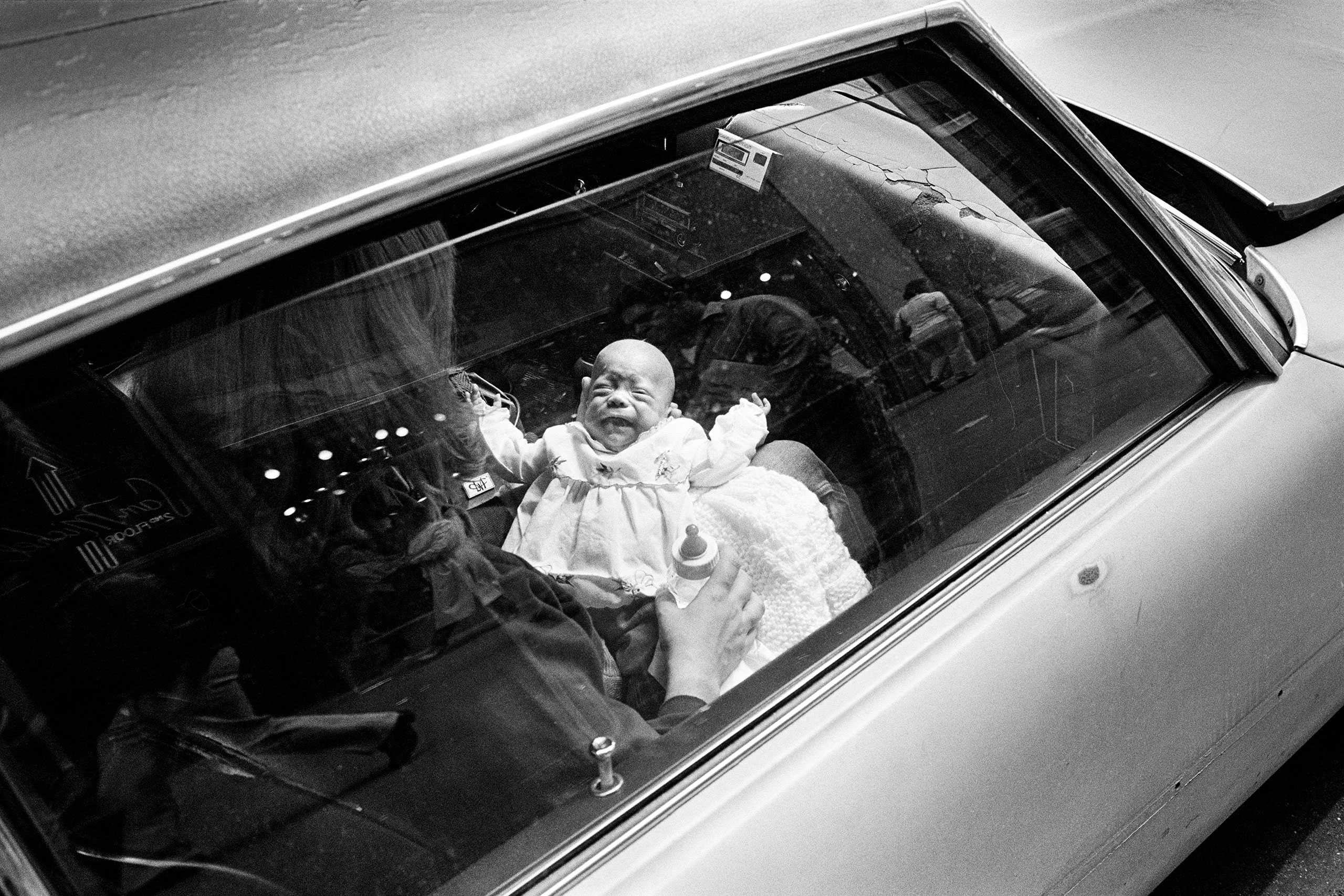 Baby 5th Ave. & 32nd St., NYC, 1982