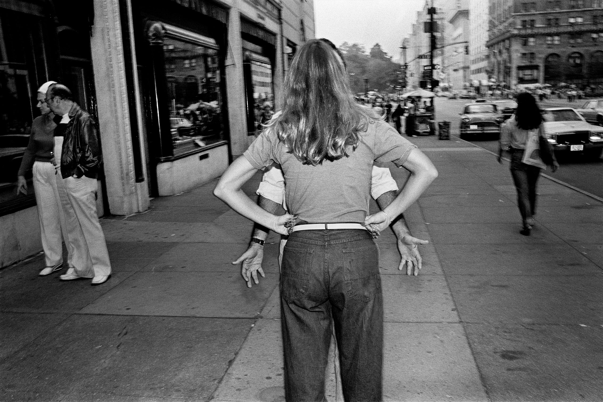 Pissed Woman, 5th Ave., NYC, 1983