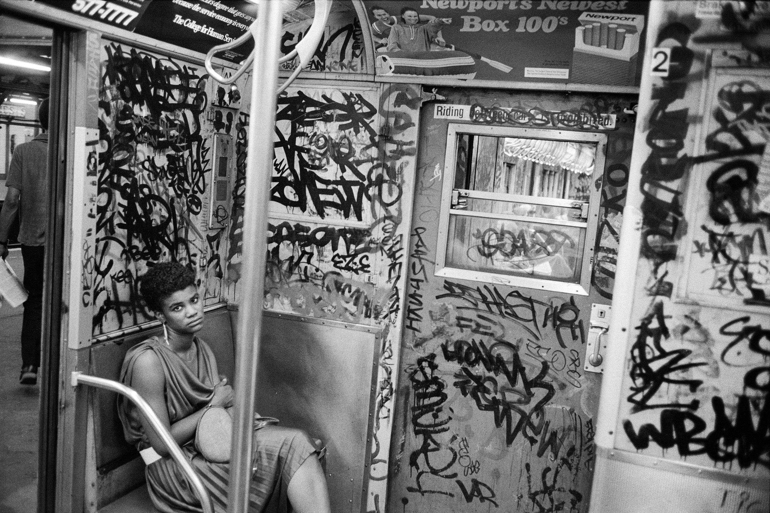 Subway, May 17, NYC, 1984