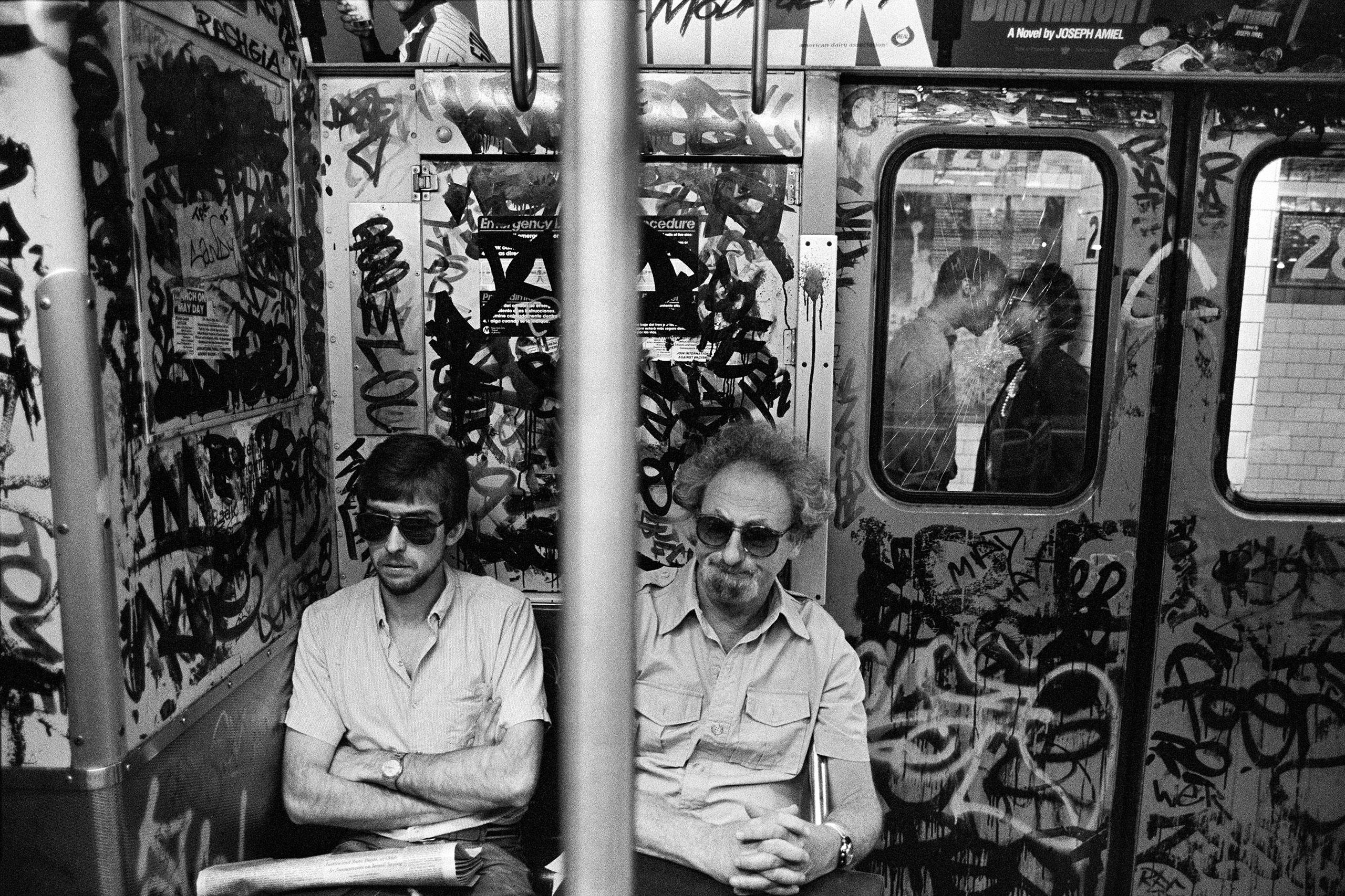 Subway Kiss, NYC, 1987