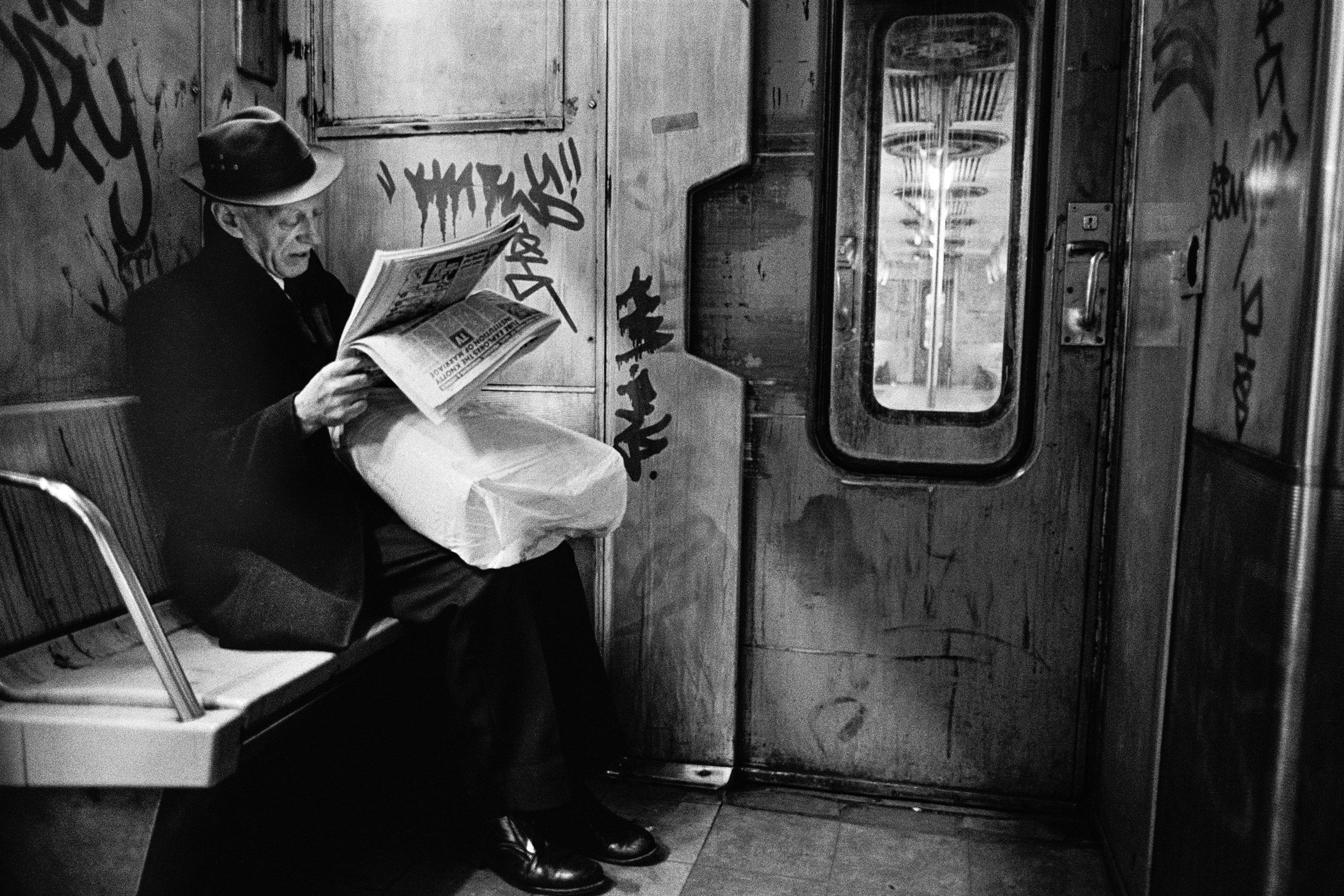 Subway Noir, NYC, 1986