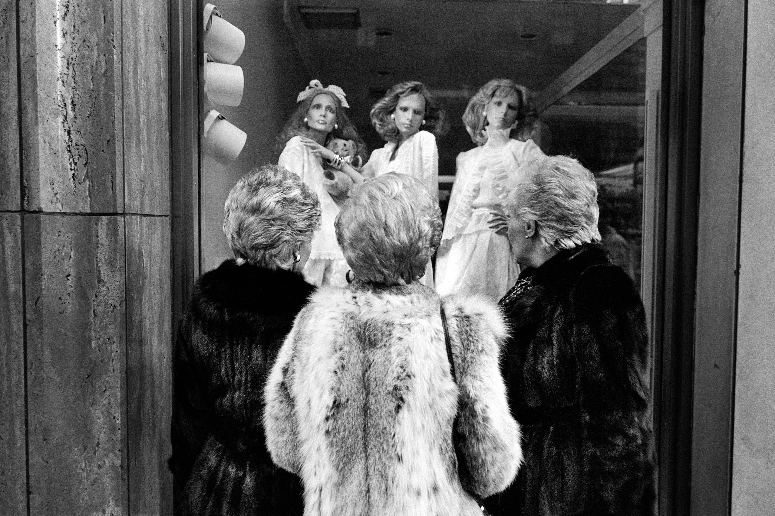 Three Furs, Three Do's, NYC, c.1981