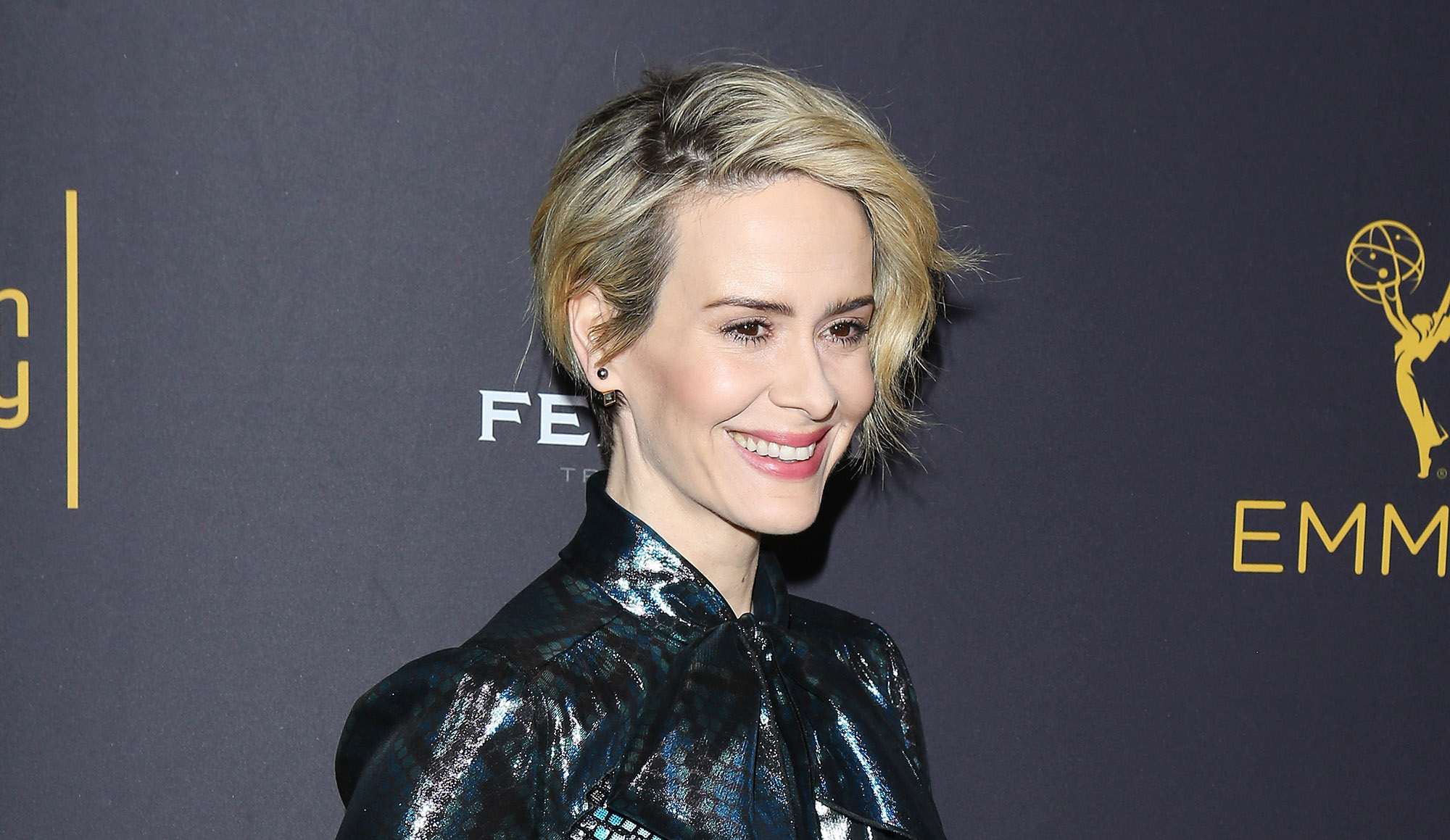 Sarah Paulson attends the Television Academy's Performers Peer Group celebration held at Montage Beverly Hills on August 22, 2016 in Beverly Hills, California.  (Photo by Michael Tran/FilmMagic)