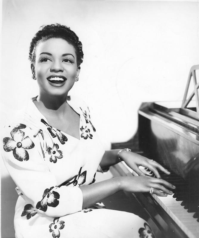Hazel Scott, circa 1950.