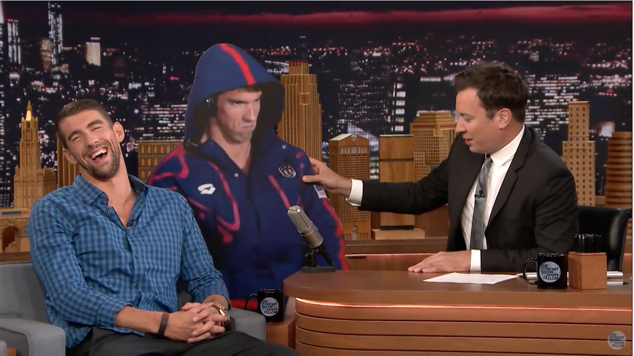 Michael Phelps on The Tonight Show Starring Jimmy Fallon