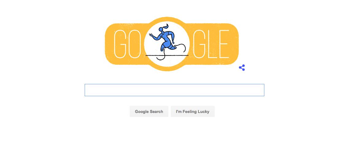 Google Doodle for 2016 Rio de Janeiro Paralympics.