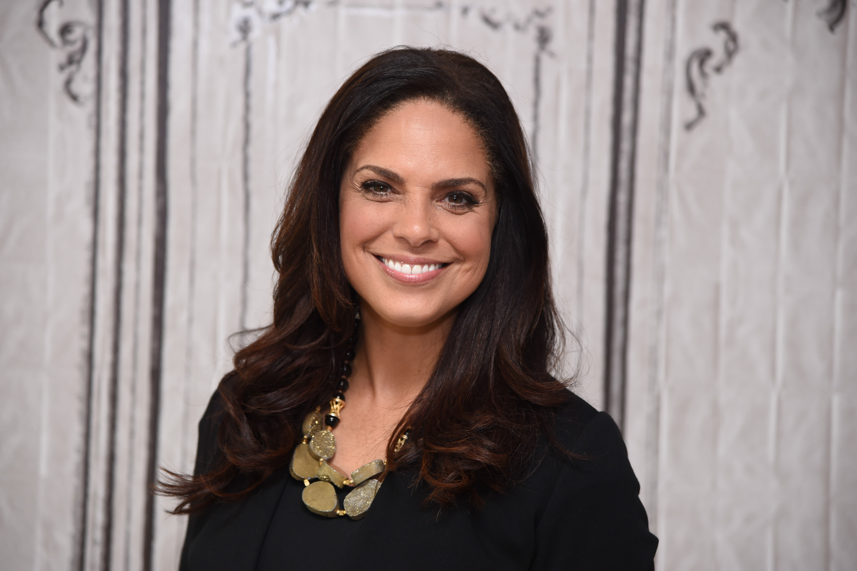 Broadcast journalist and executive producer Soledad O'Brien discusses  The War Comes Home - The New Battlefront  at AOL Studios In New York on May 20, 2016 in New York City.