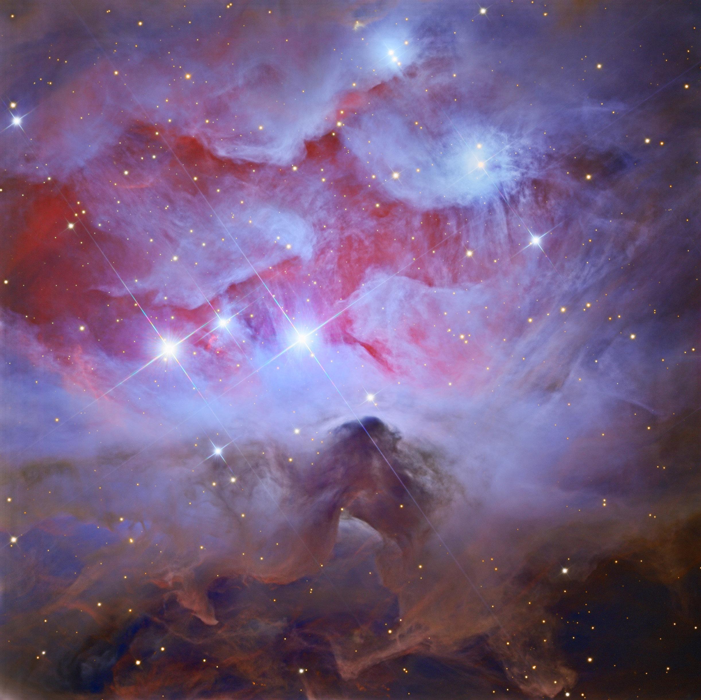 Running Man Nebula, Jan. 8, 2016.