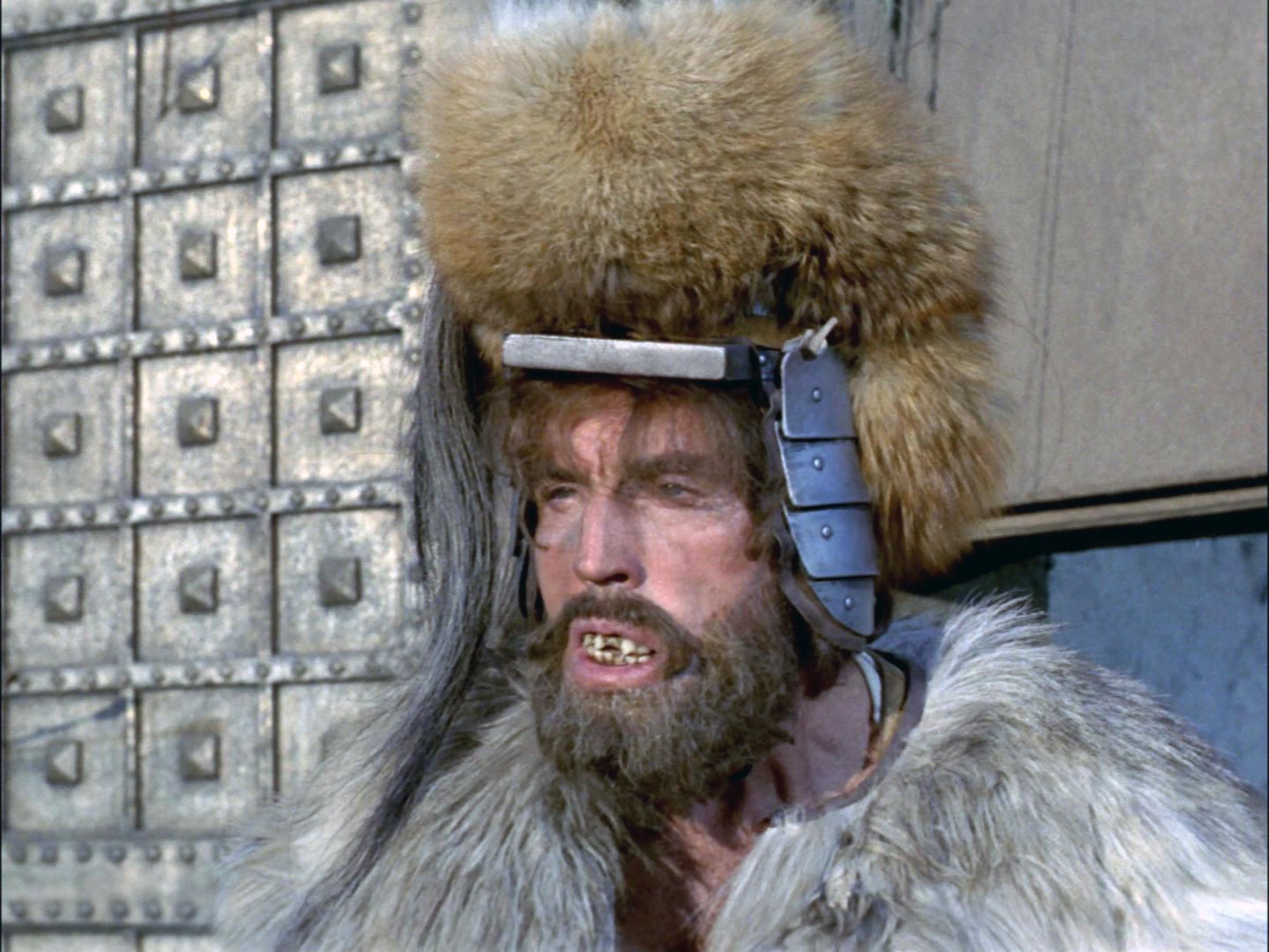 Michael Dugan as the Kalar warrior on Rigel VII.