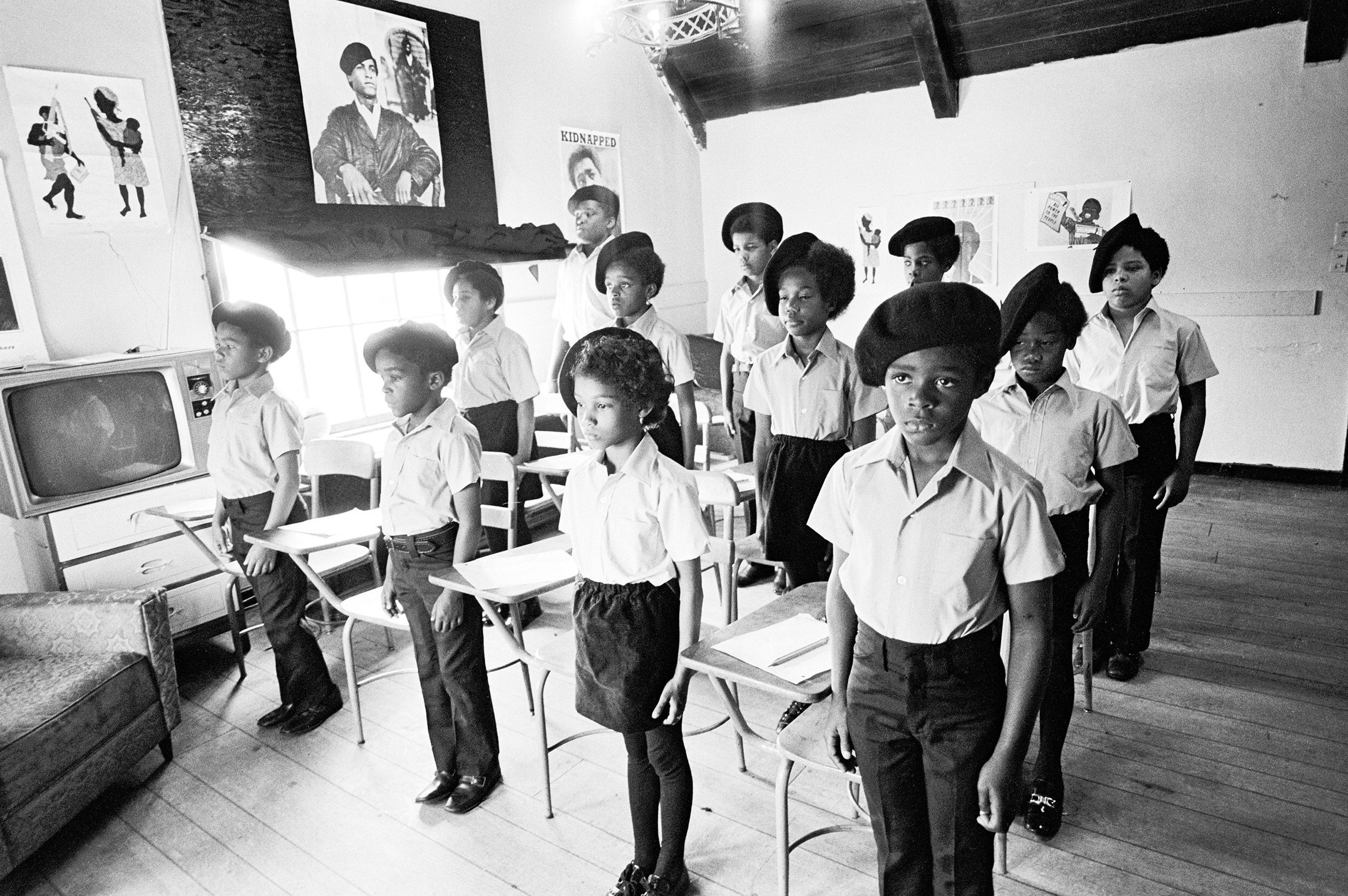 Classroom at the Intercommunal Youth Institute, Oakland, 1971.