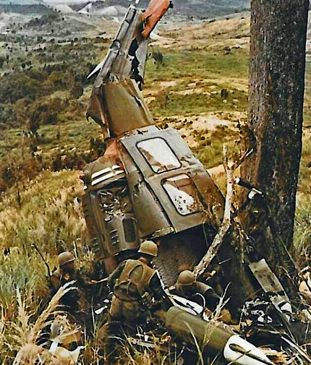 Four died in this 1972 UH-1 crash.