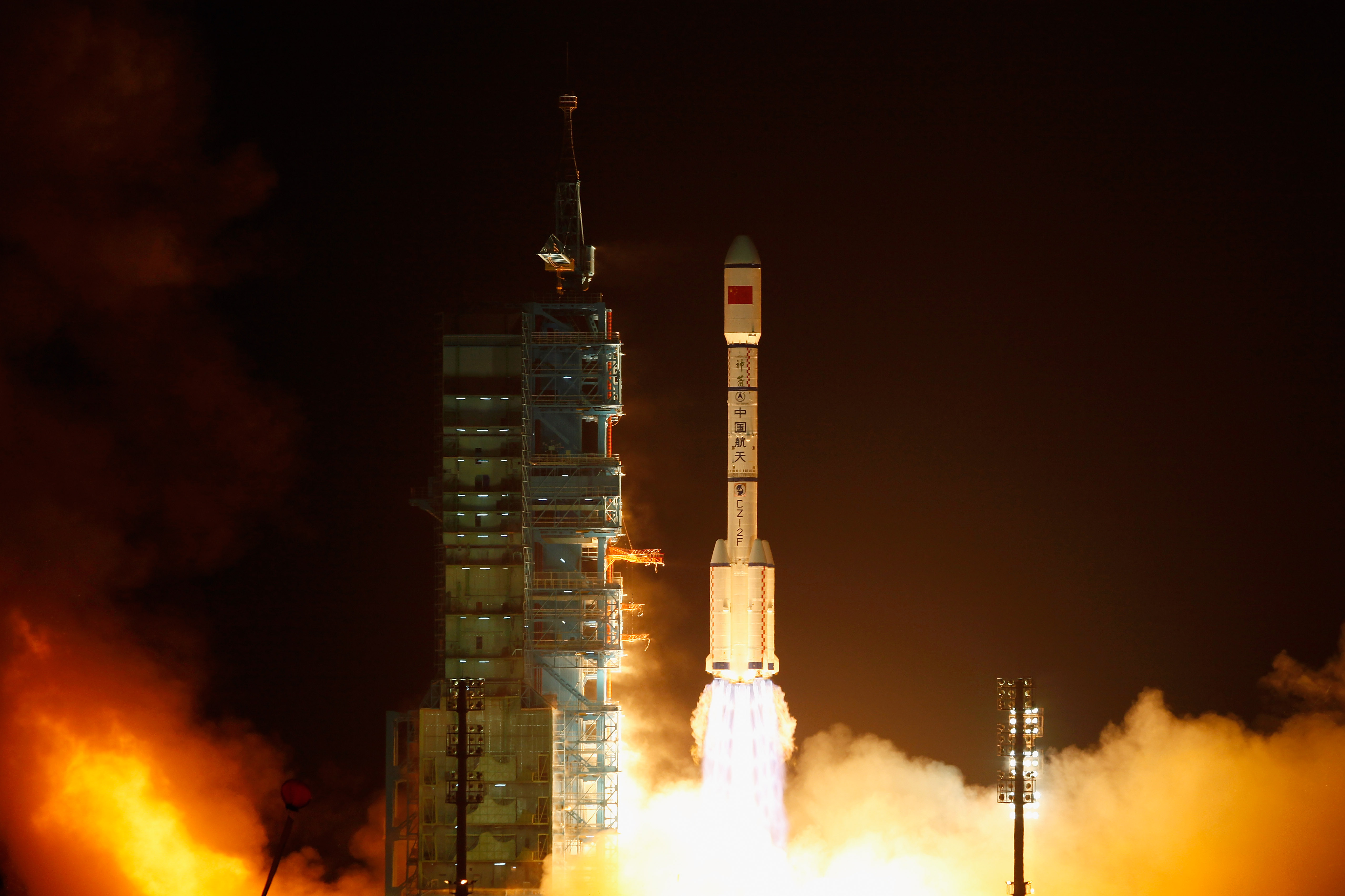 What goes up: Tiangong-1's launch in 2011