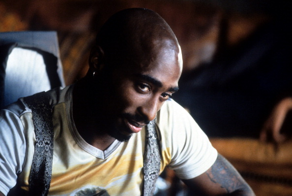 Tupac Shakur in a scene from the film Gridlock'd (1997)