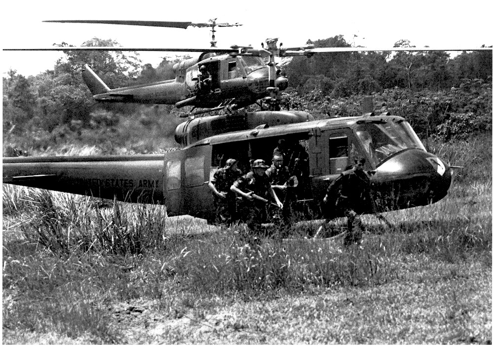 Army helicopters were the workhorses—and ambulances—of the Vietnam war.
