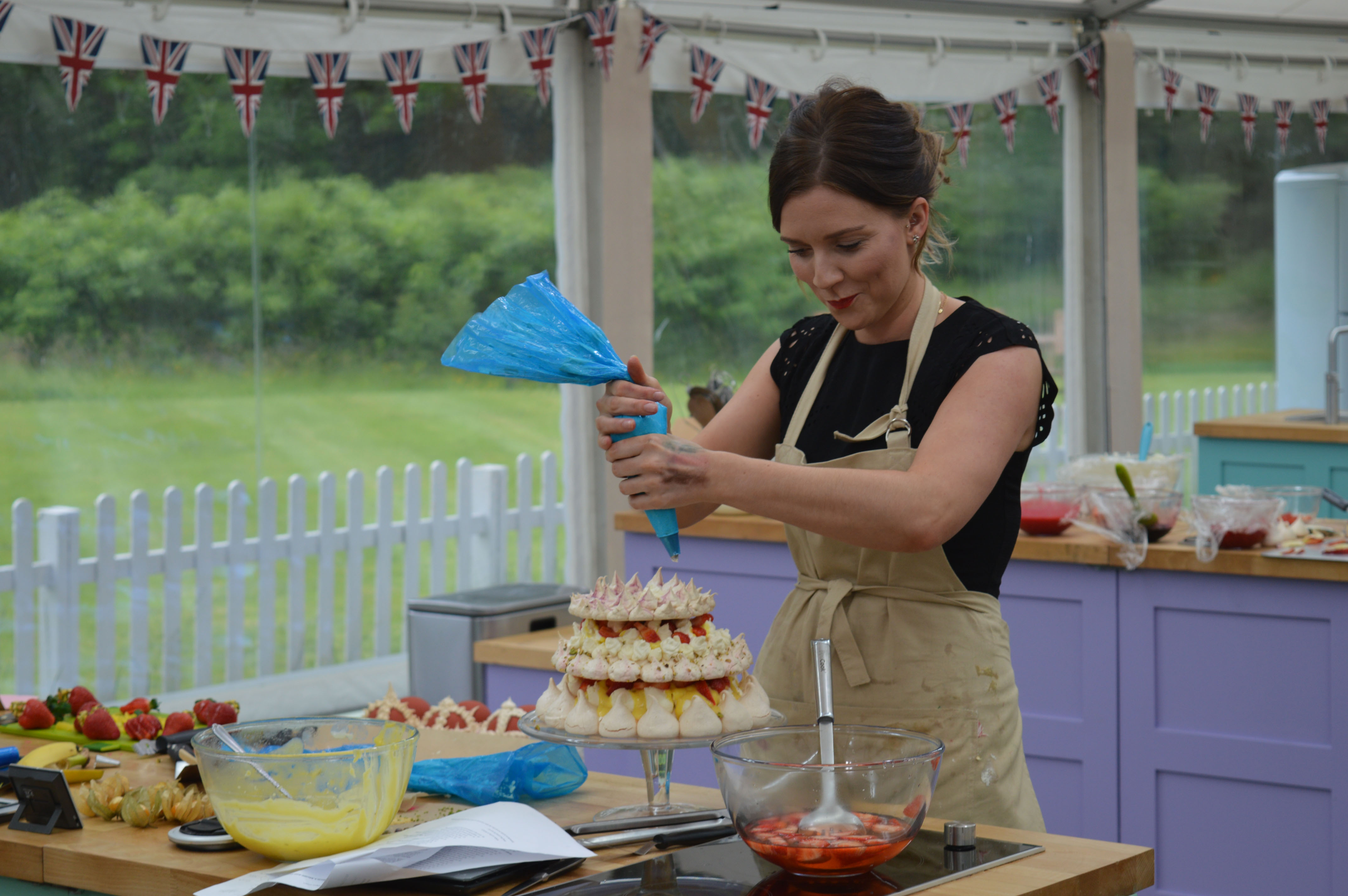 Last night, after a gruelling ten-week competition, the seventh season of the Great British Bake Off was won by Candice Brown (pictured), a 31-year-old phys. ed. teacher from Bedfordshire