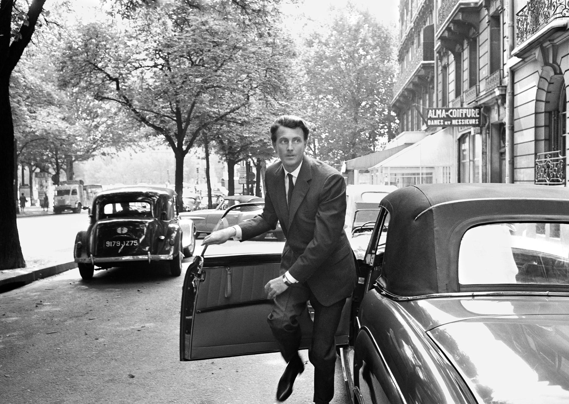 Givenchy. Paris, France, 1961.