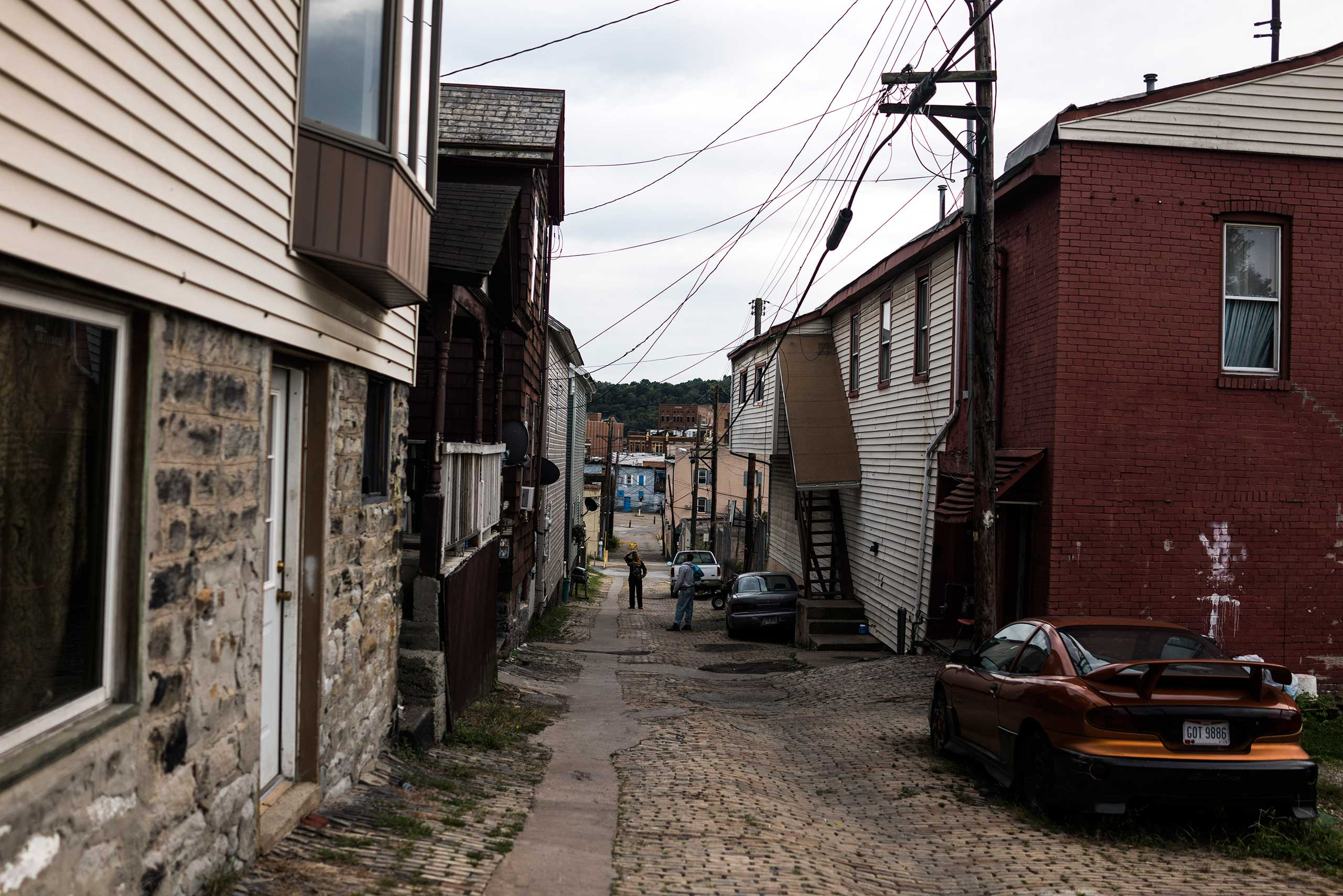 Green Lane, a road commonly known in East Liverpool as the Ohio town's drug alley, on Oct. 8, 2016.