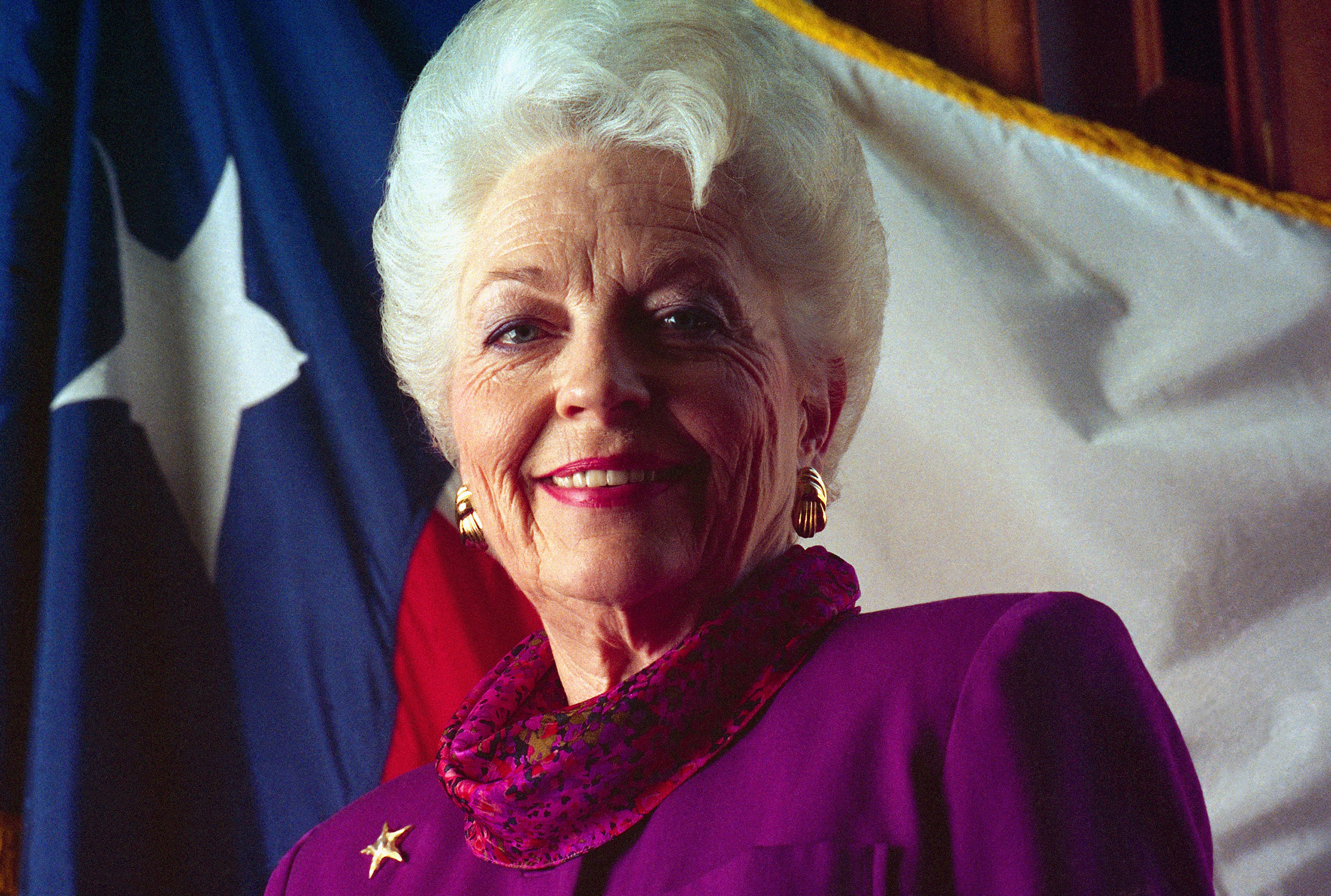 Texas governor Ann Richards at the Democratic National Convention on July 13, 1992 in New York.