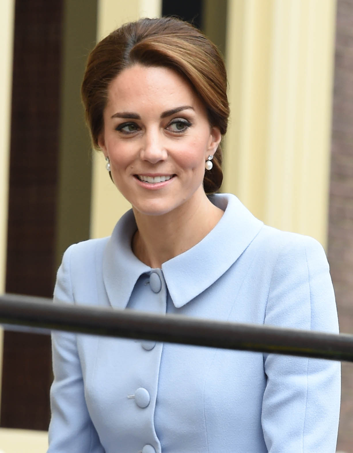 The Duchess of Cambridge visits The Netherlands for a day of official engagements in The Hague and Rotterdam.