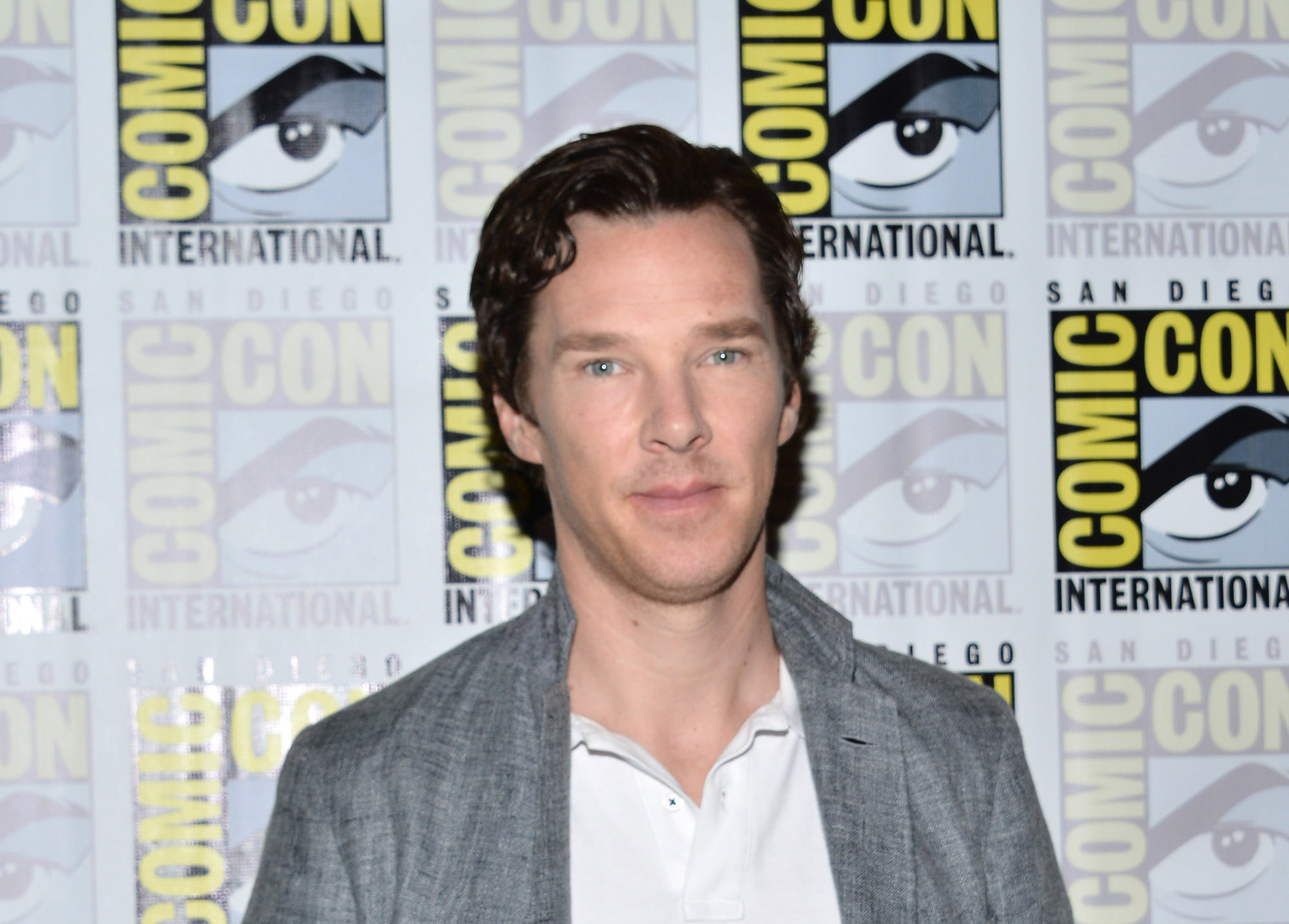 Benedict Cumberbatch attends the  Sherlock  press line at Comic-Con International 2016 - Day 4 on July 24, 2016 in San Diego, California.  (Photo by Araya Diaz/WireImage)