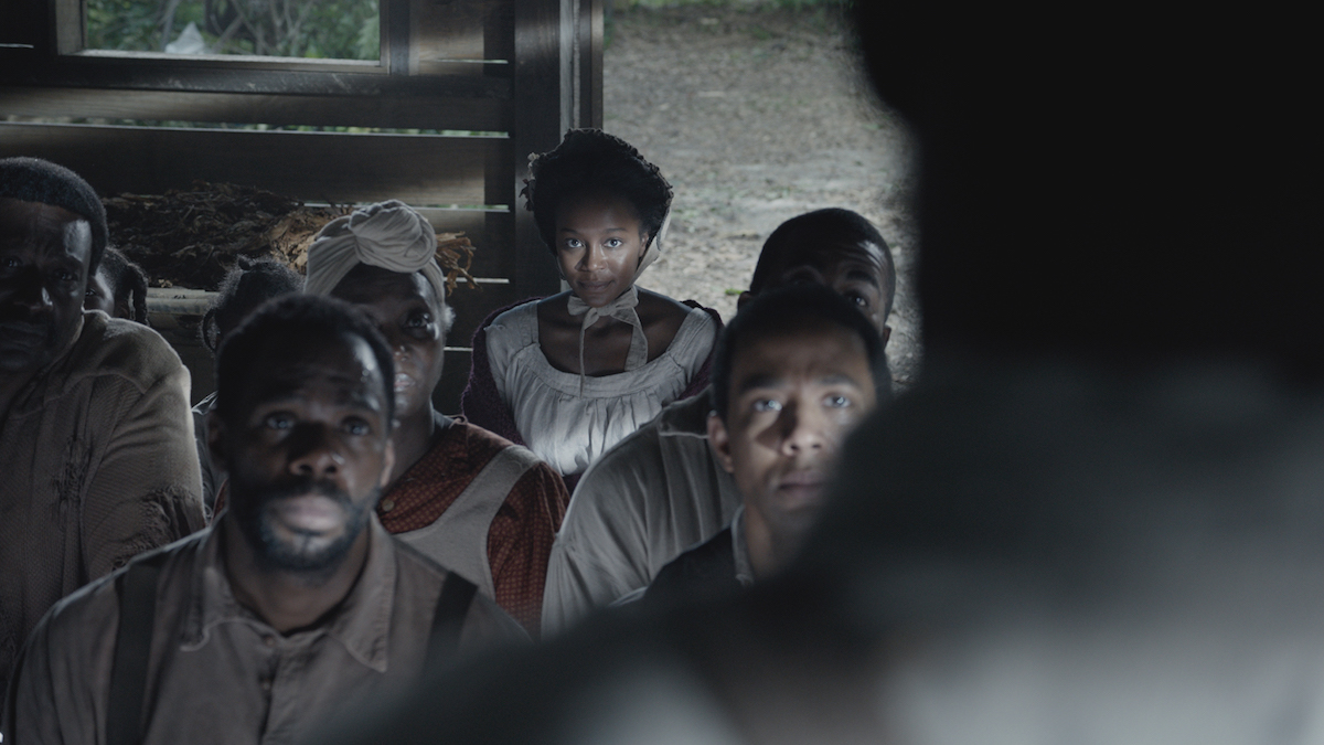 "Colman Domingo as ""Hark"" and Aja Naomi King as  Cherry  in 'The Birth of a Nation'"