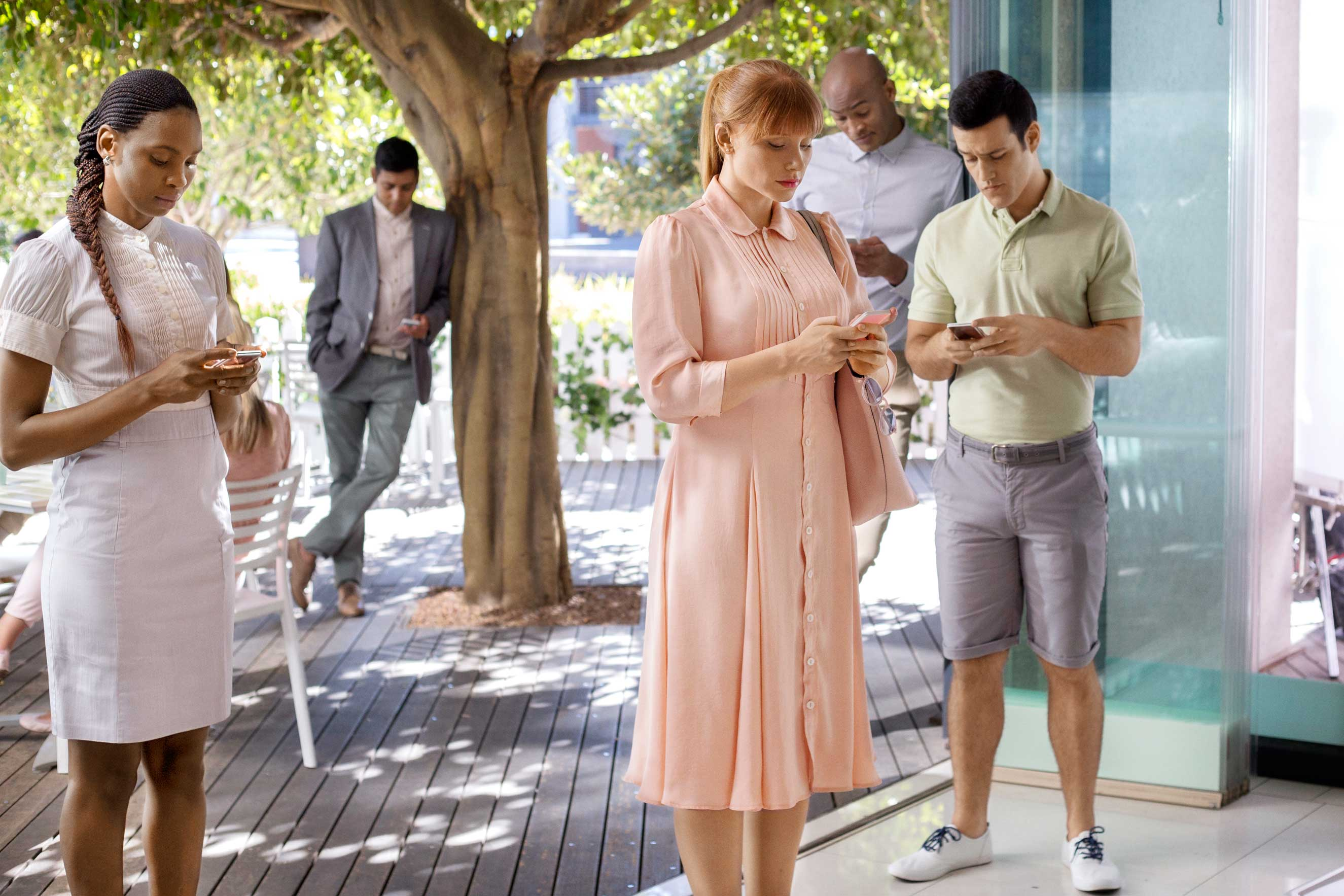 Lacie (Bryce Dallas Howard) is obsessed with likes in an episode of Black Mirror