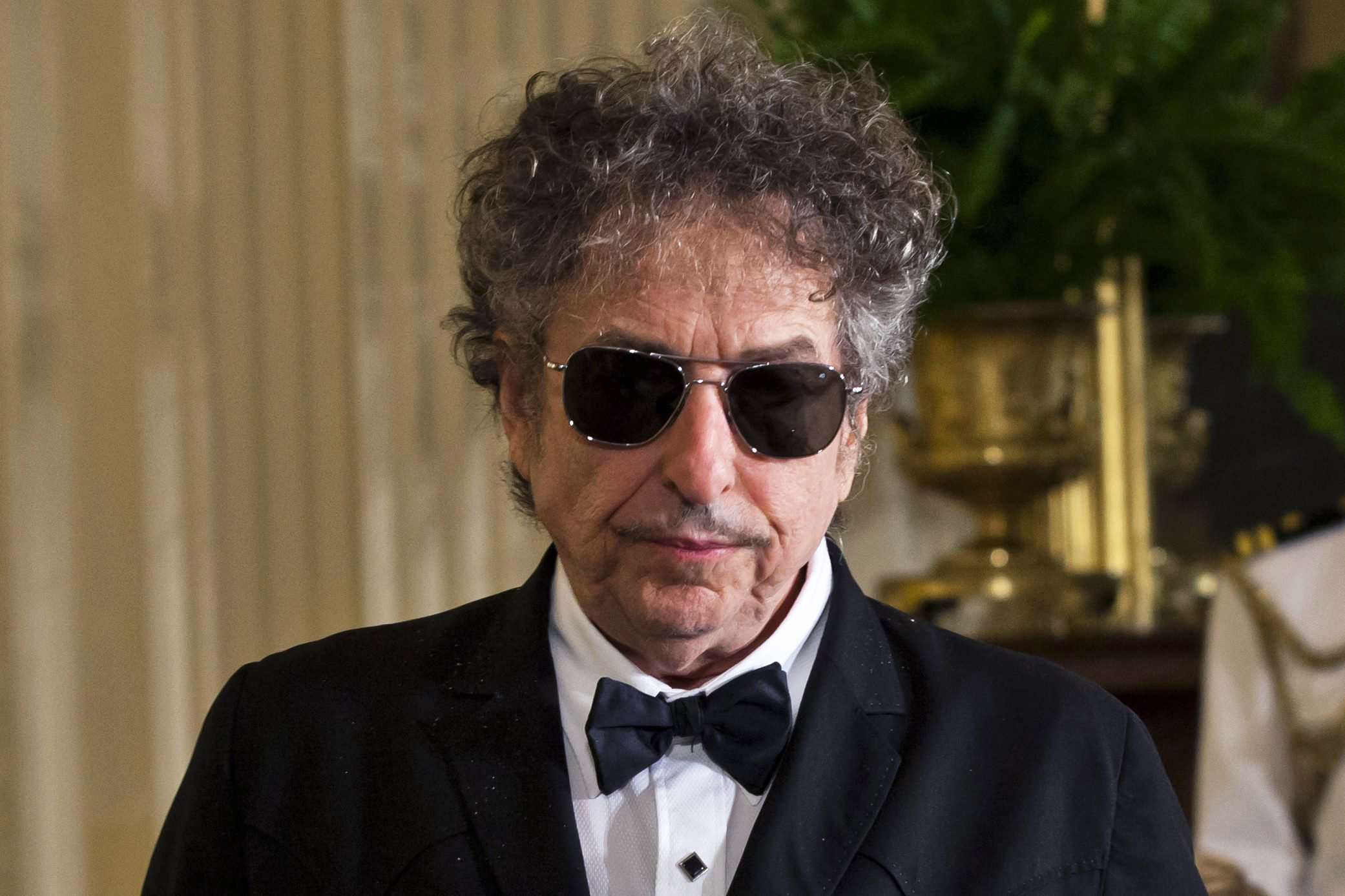 Folk music legend Bob Dylan in the East Room of the White House in Washington, D.C., on May 29, 2012. Dylan won the 2016 Nobel Prize in Literature, the Swedish Academy announced in Stockholm, on Oct. 13, 2016.