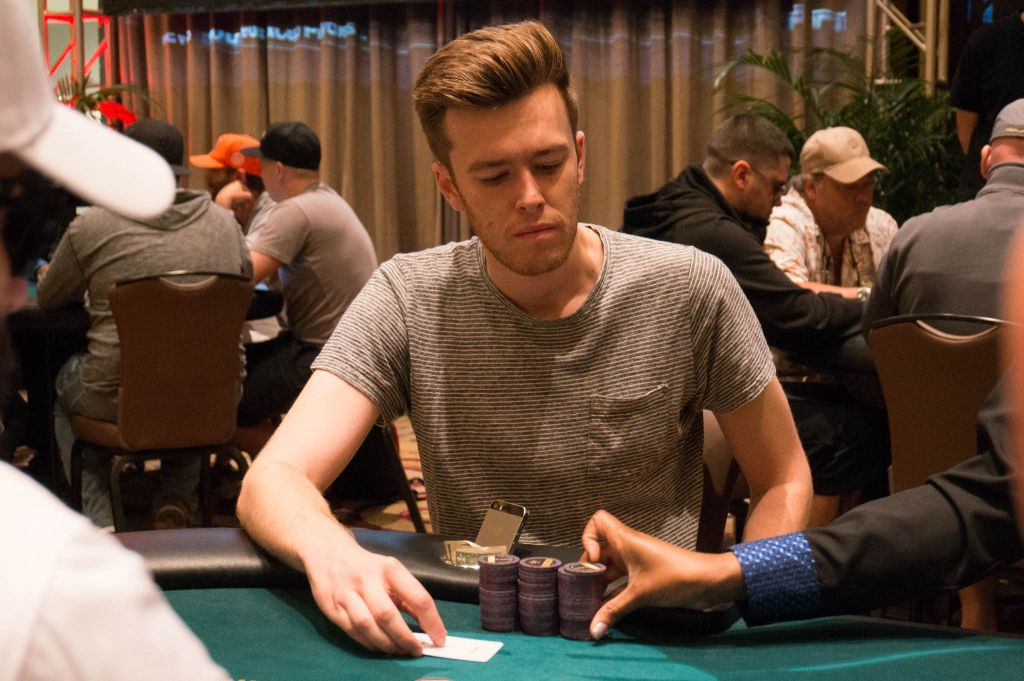 Gordon Vayo is one of this year's  November Nine  at the World Series of Poker.