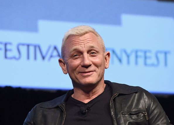 Actor Daniel Craig speaks onstage during The New Yorker Festival 2016.