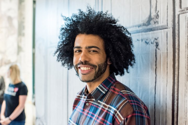 Daveed Diggs at AOL Studios In New York City on May 6, 2016.