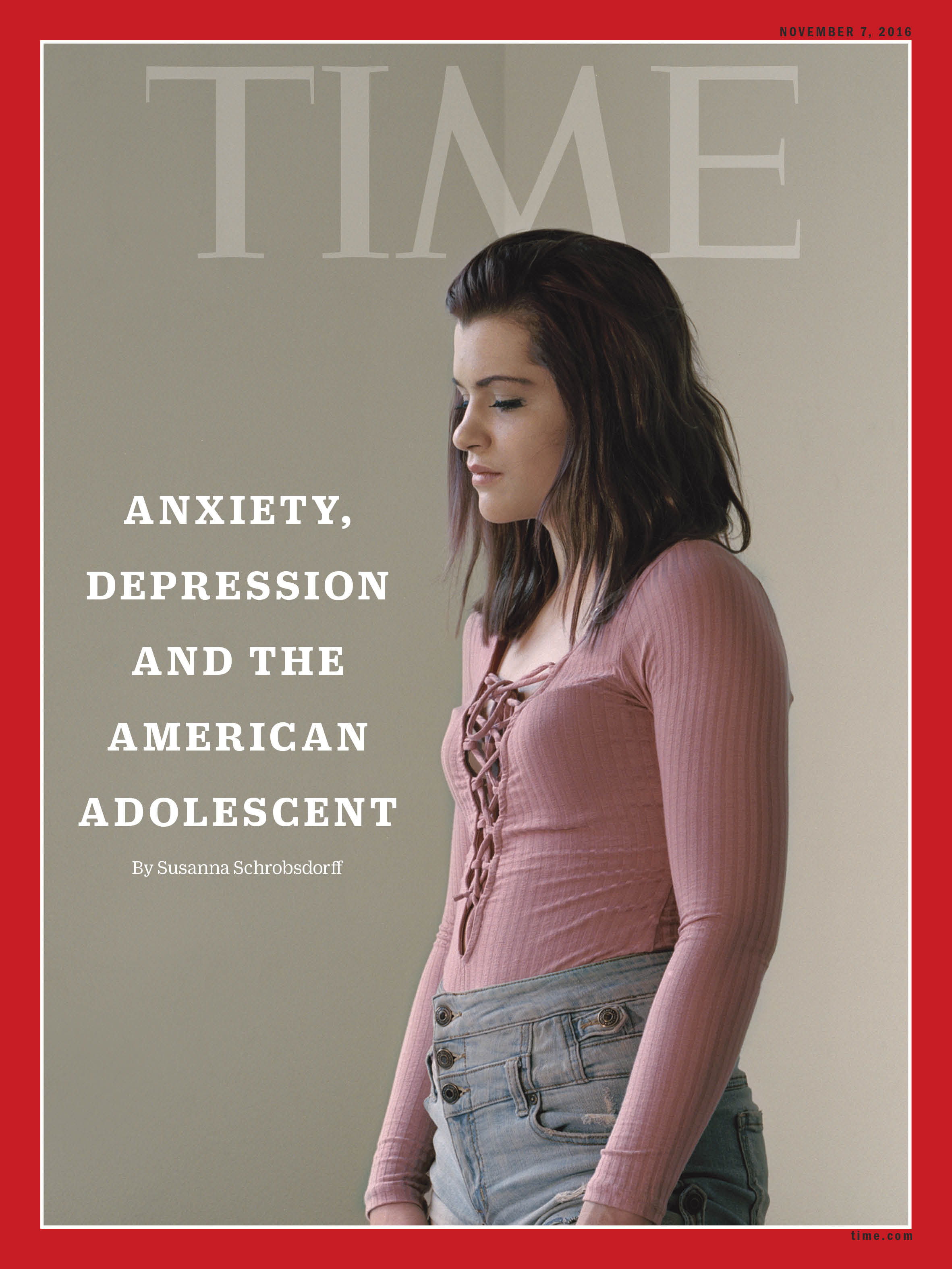 Faith-Ann Bishop, 20, is one of millions of young Americans who've struggled with depression and anxiety.