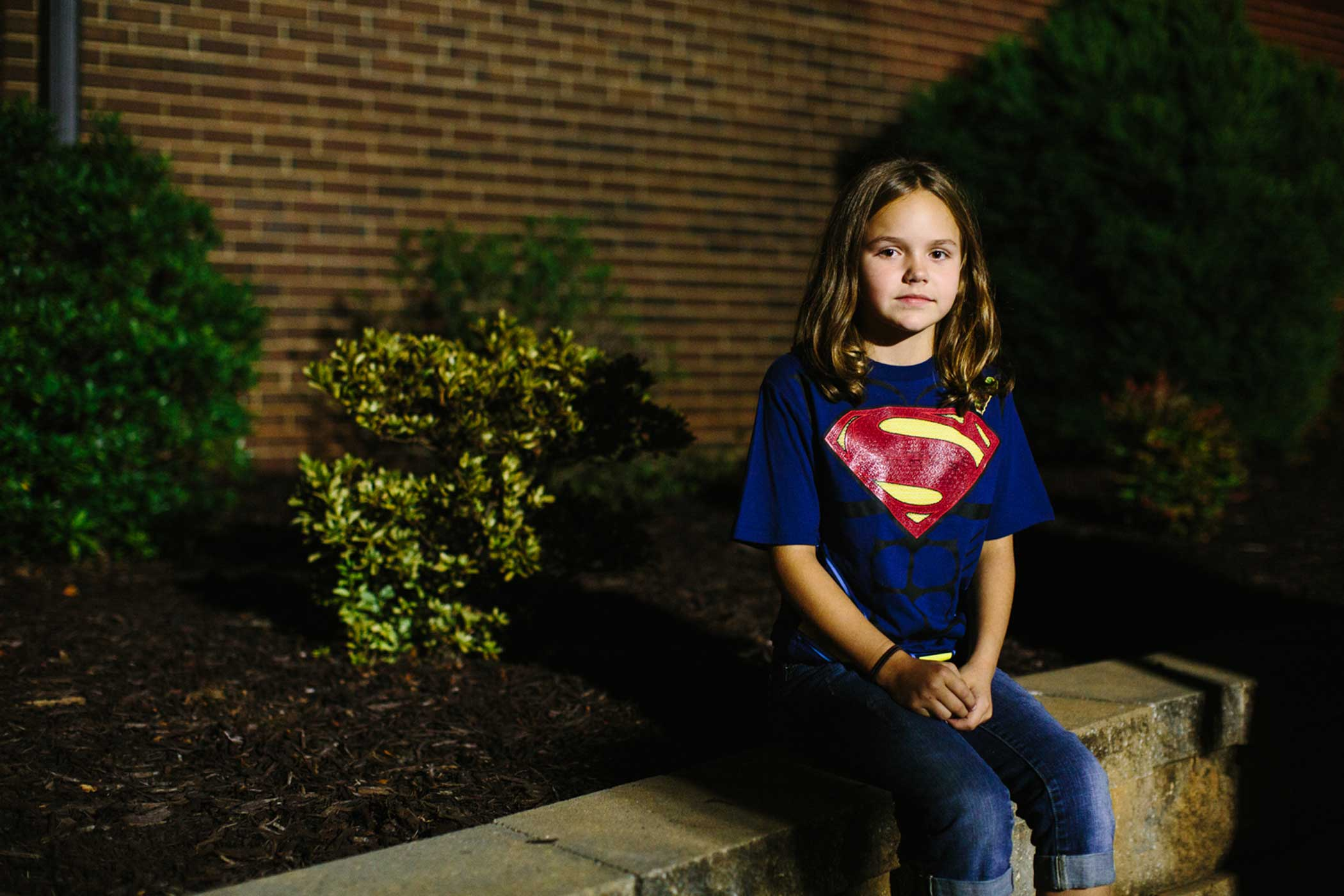 Kylei Cartee, 9, is one of the Hall children's cousins.  The kids are resilient,  said her grandmother, Cindy Kreitz.