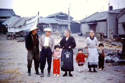 Personal photo by Dr. Andrew Weil in a small fishing village in Japan, 1959.