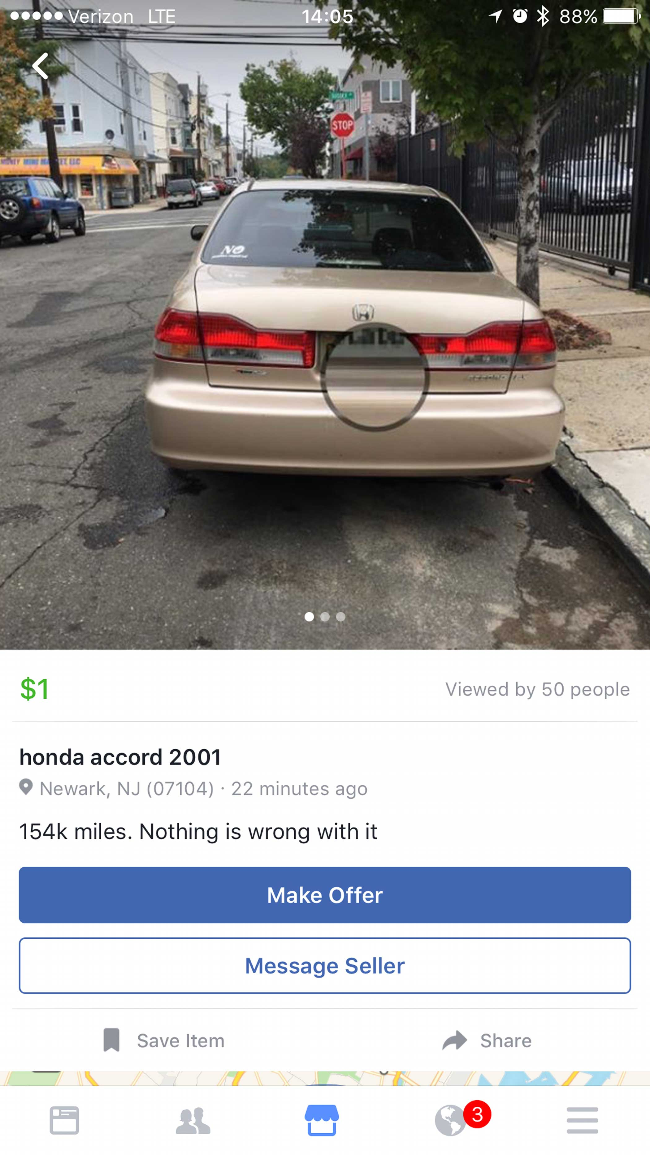 Hondas last forever, sure, but somehow we doubt this is true.
