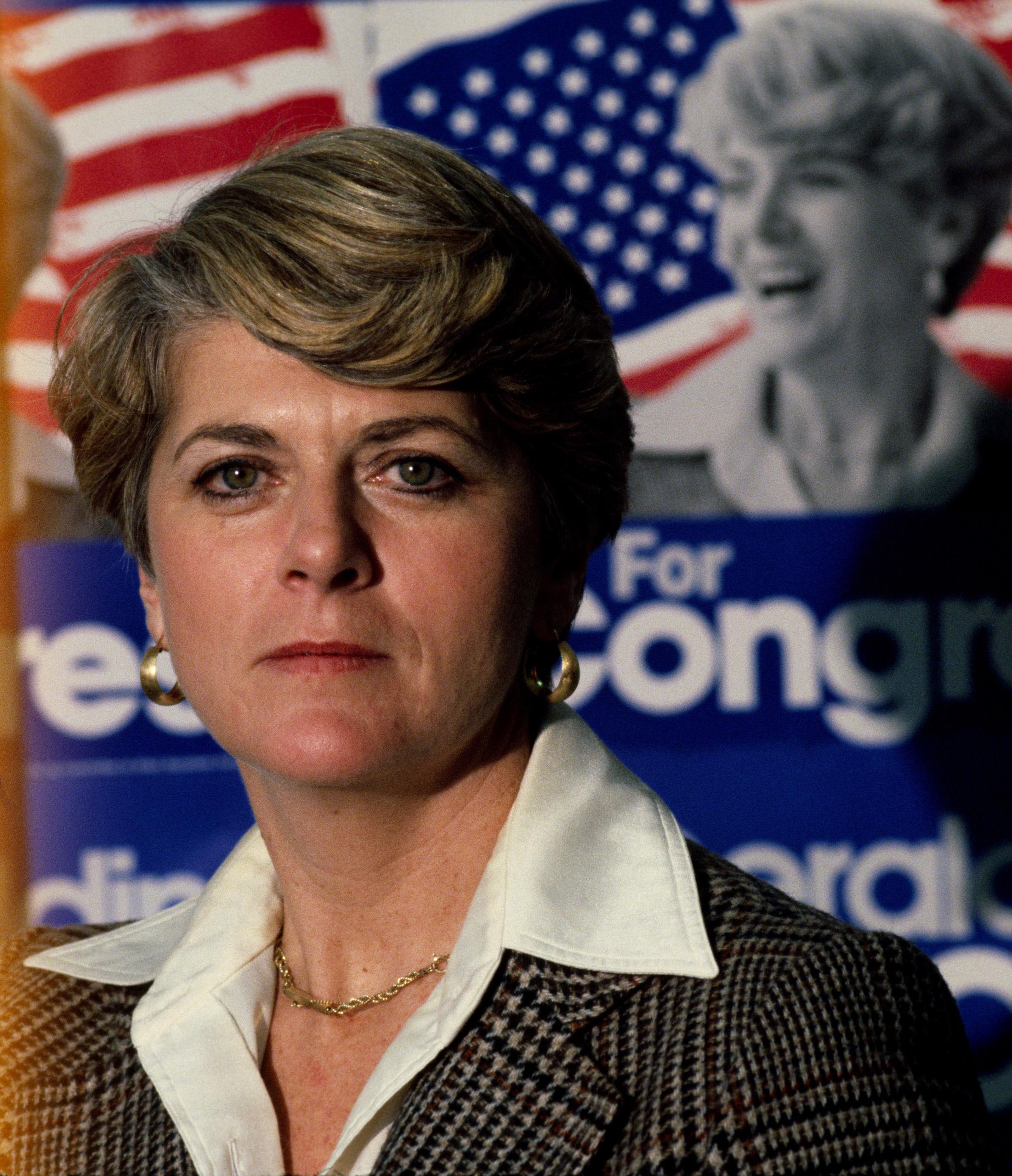 Geraldine Ferraro on February 3, 1979 in New York, New York.