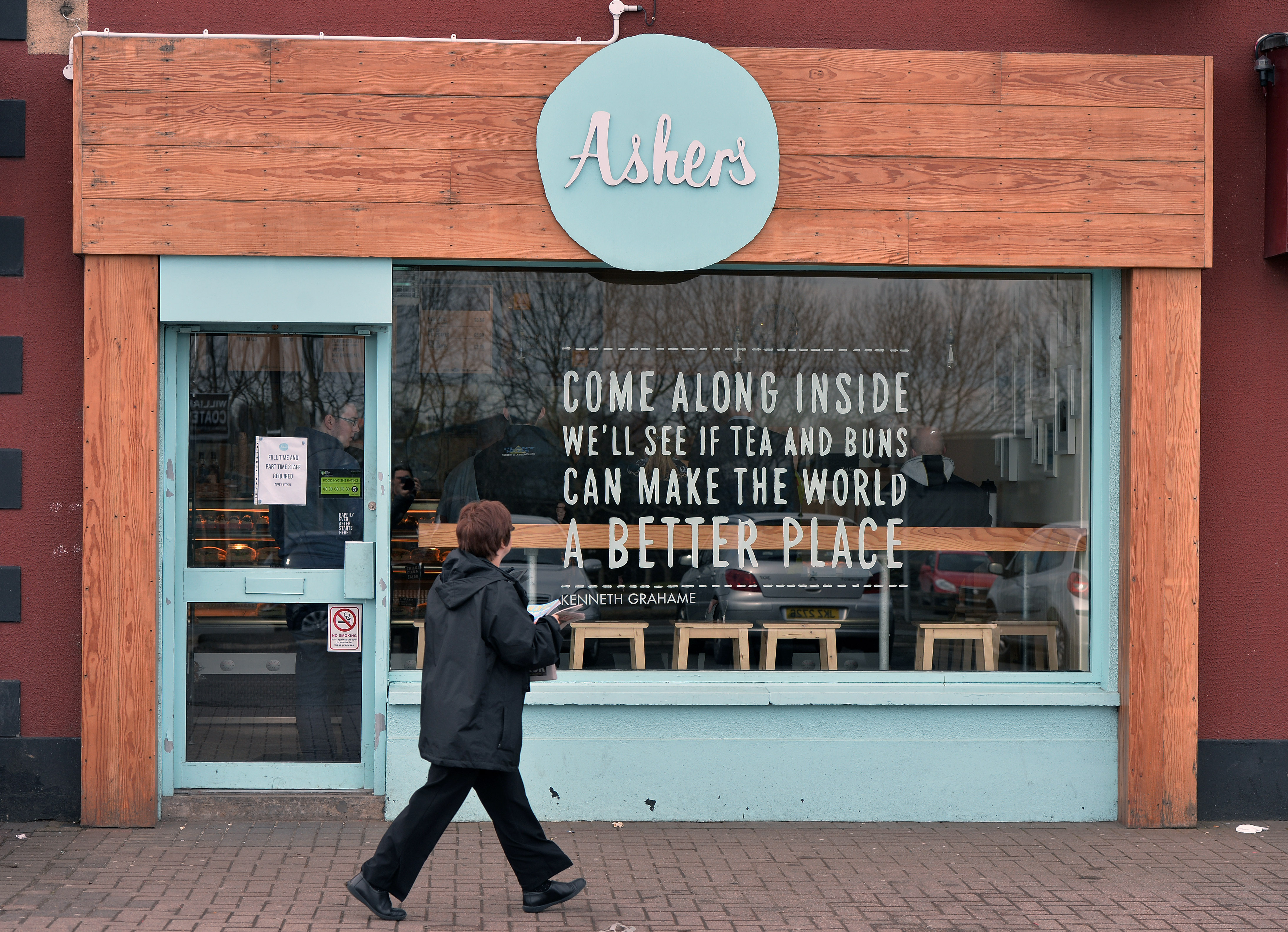 Ashers, a Christian-run bakery triggered a discrimination row when it refused to bake a cake for an anti-homophobic event in May, 2014.
