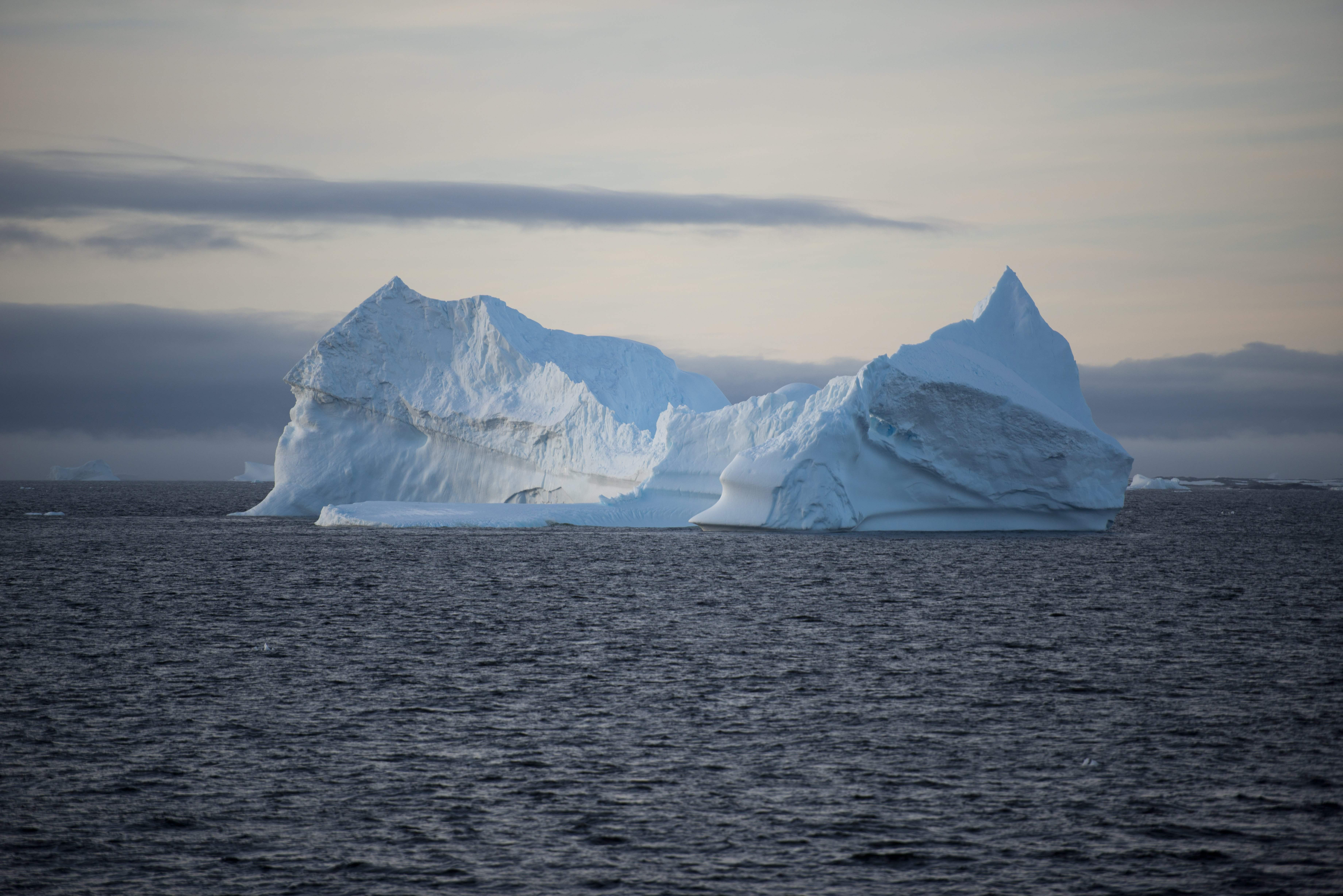 An iceberg in the western Antarctic peninsula, March 2, 2016