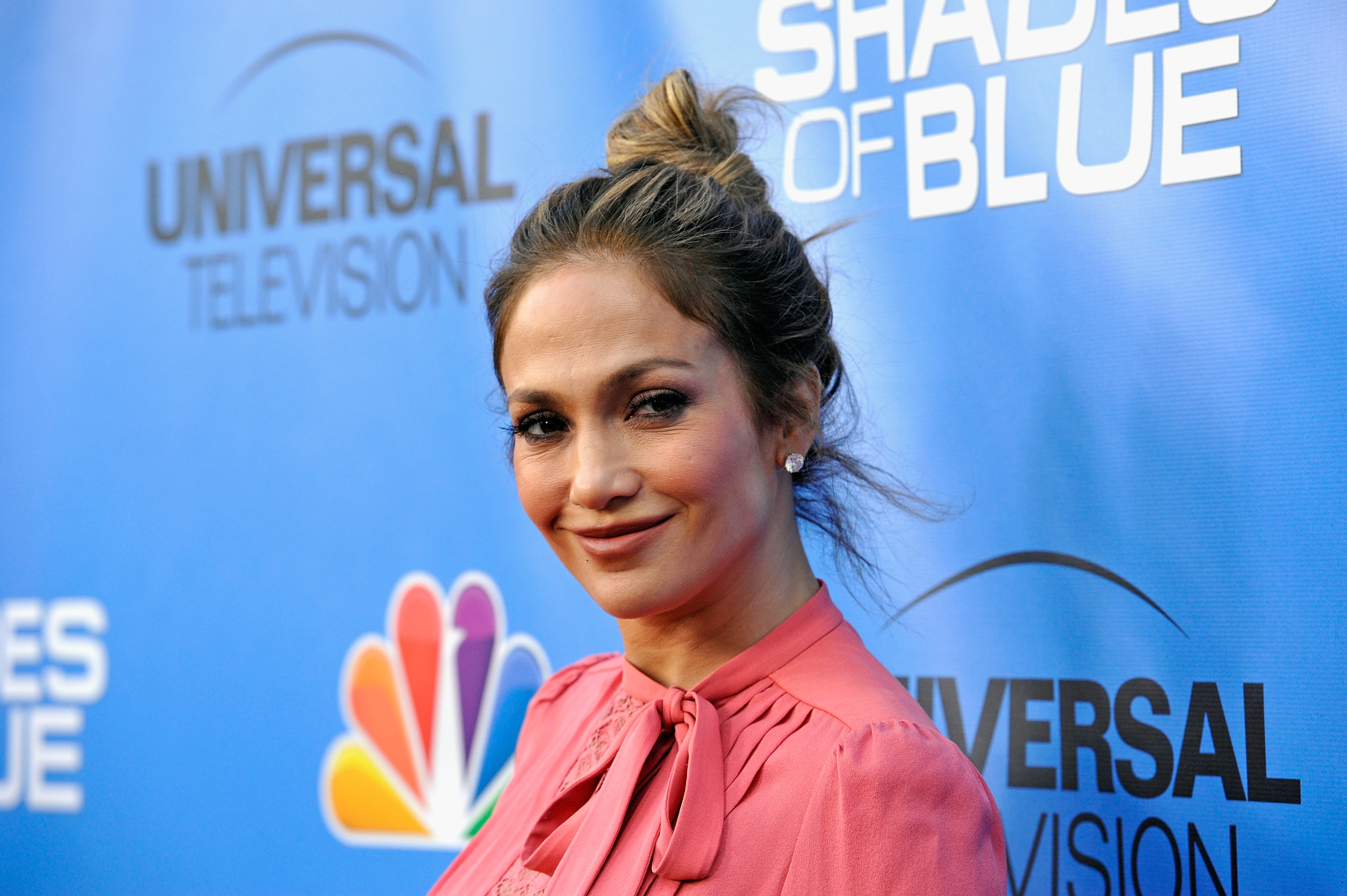 Jennifer Lopez attends an event for NBC's  Shades Of Blue  in North Hollywood, California on June 9, 2016