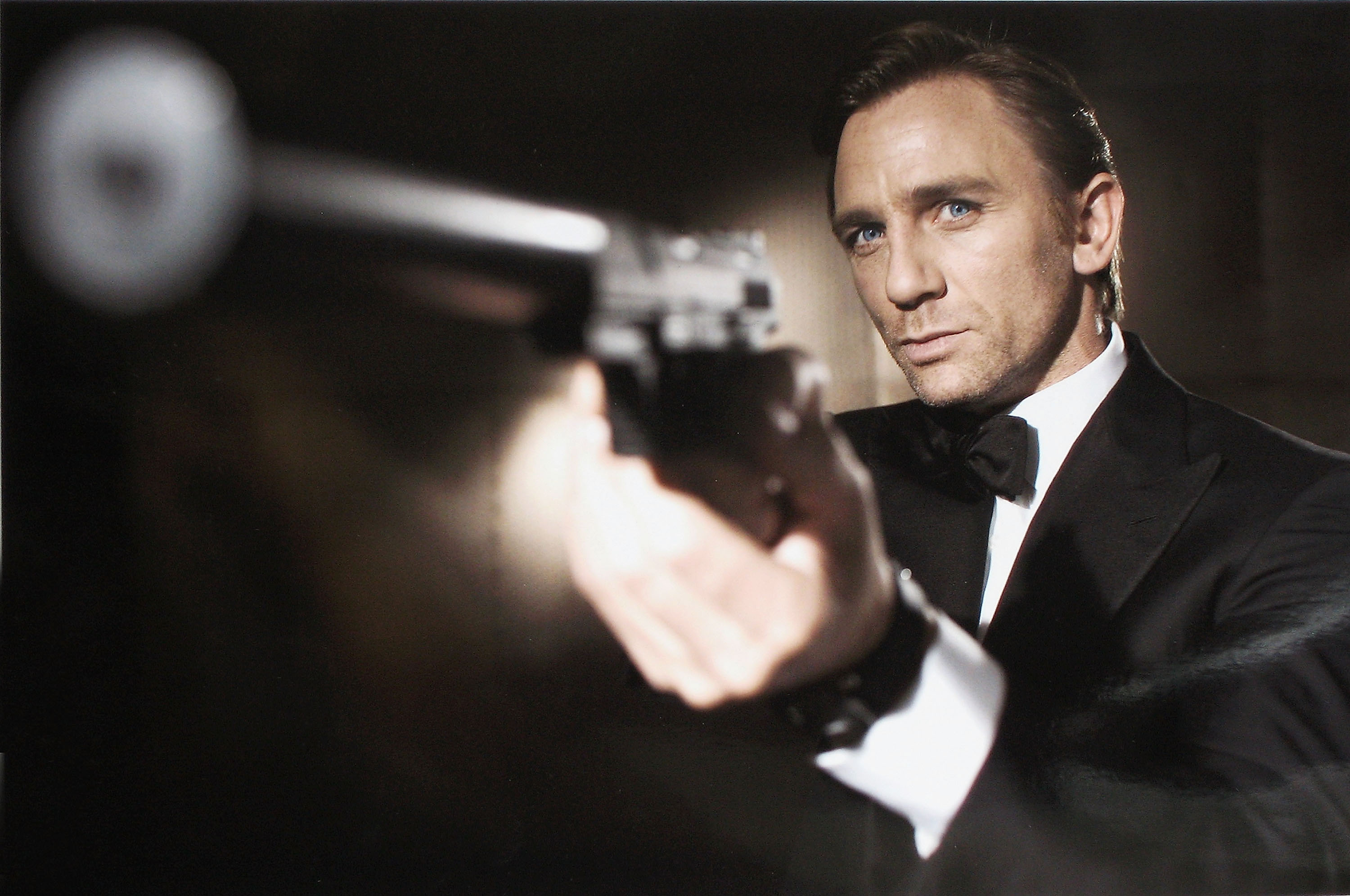 In this undated handout photo from Eon Productions, actor Daniel Craig poses as James Bond.