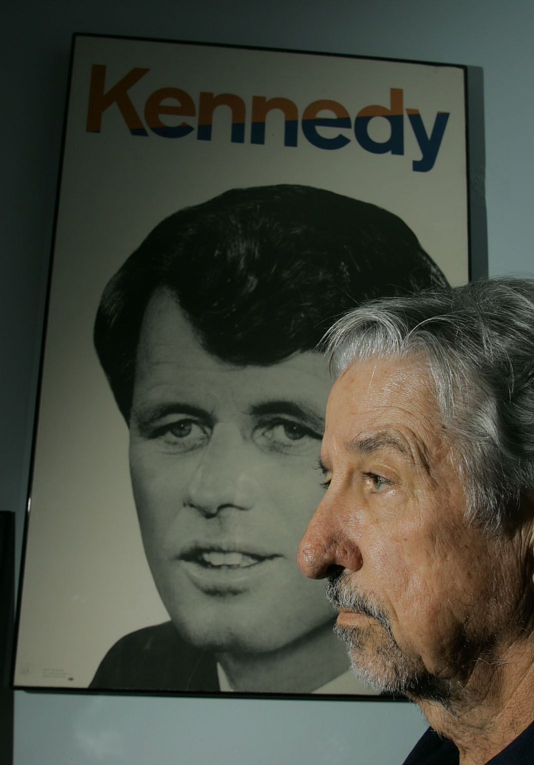Tom Hayden is photographed on Oct. 23, 2006, in Culver City, Calif.