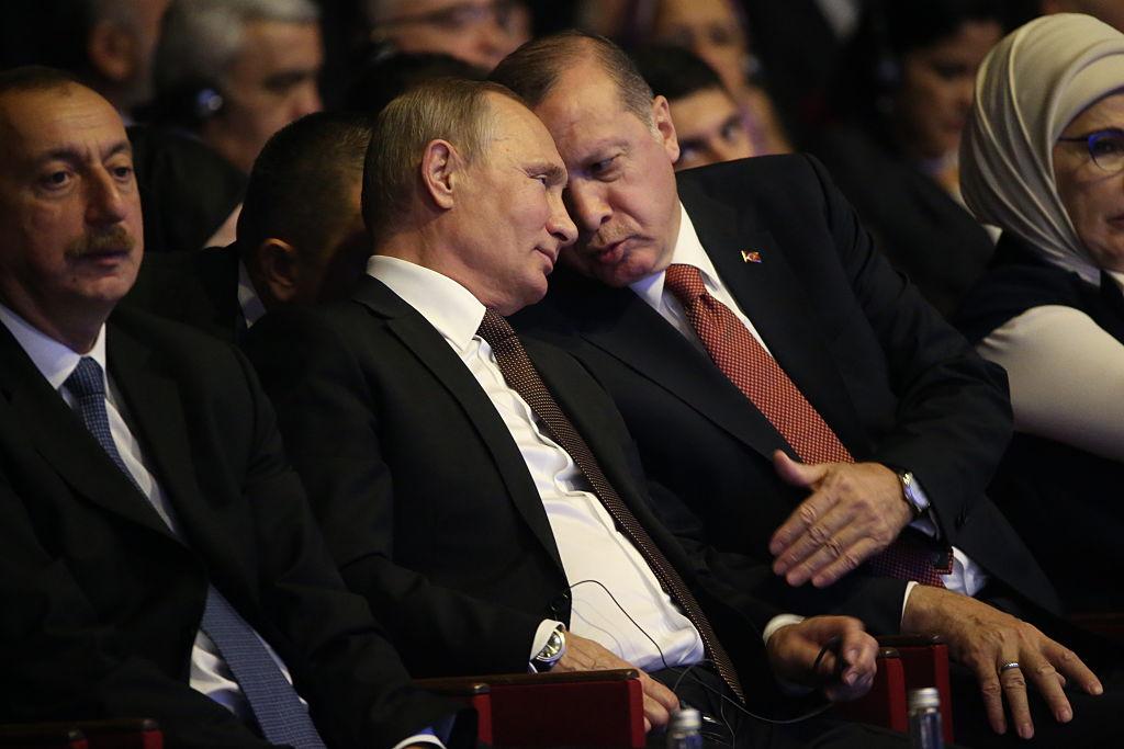 Putin and Erdogan Meet and Agree to Disagree on Syria | Time